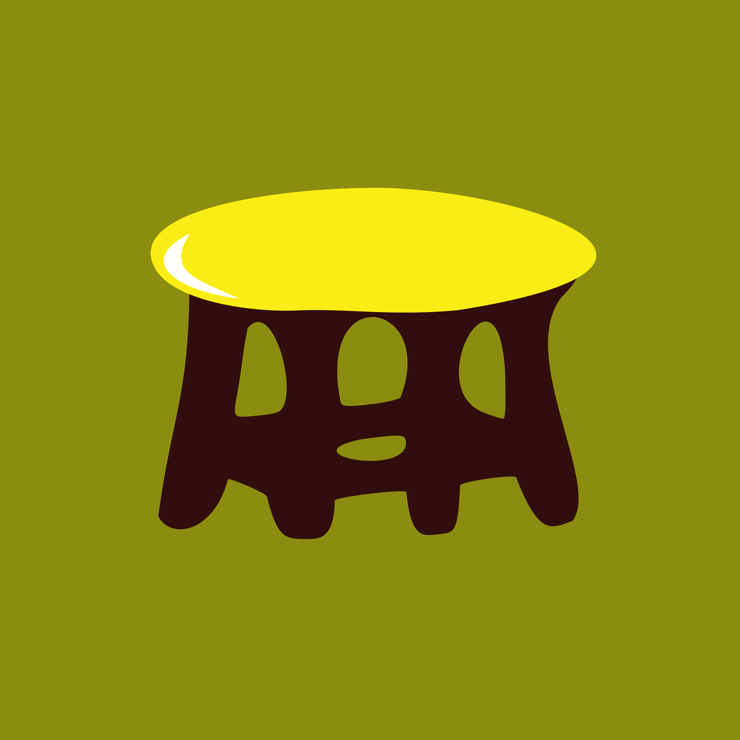 stool-yellow by yamachem