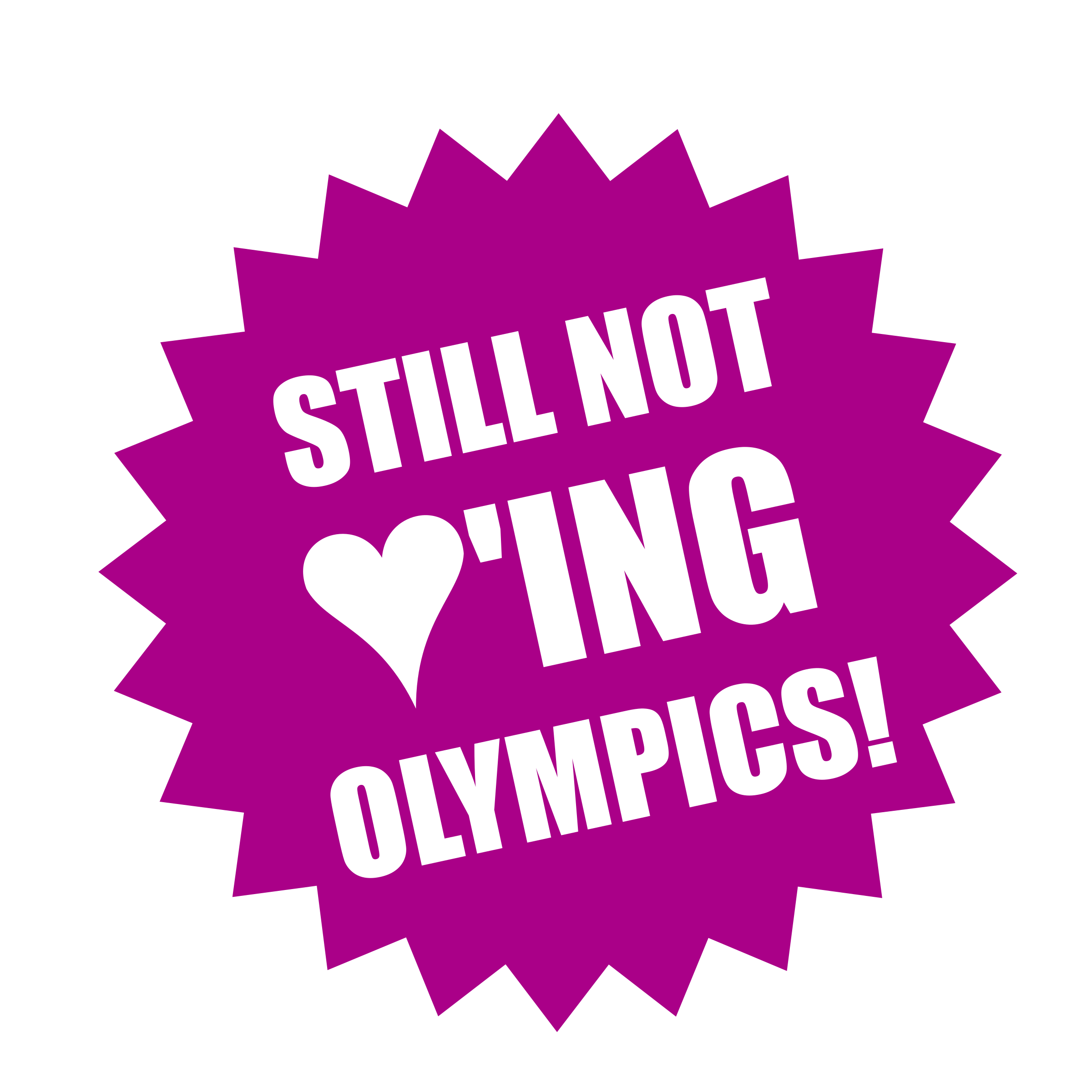 Still not loving Olympics by worker