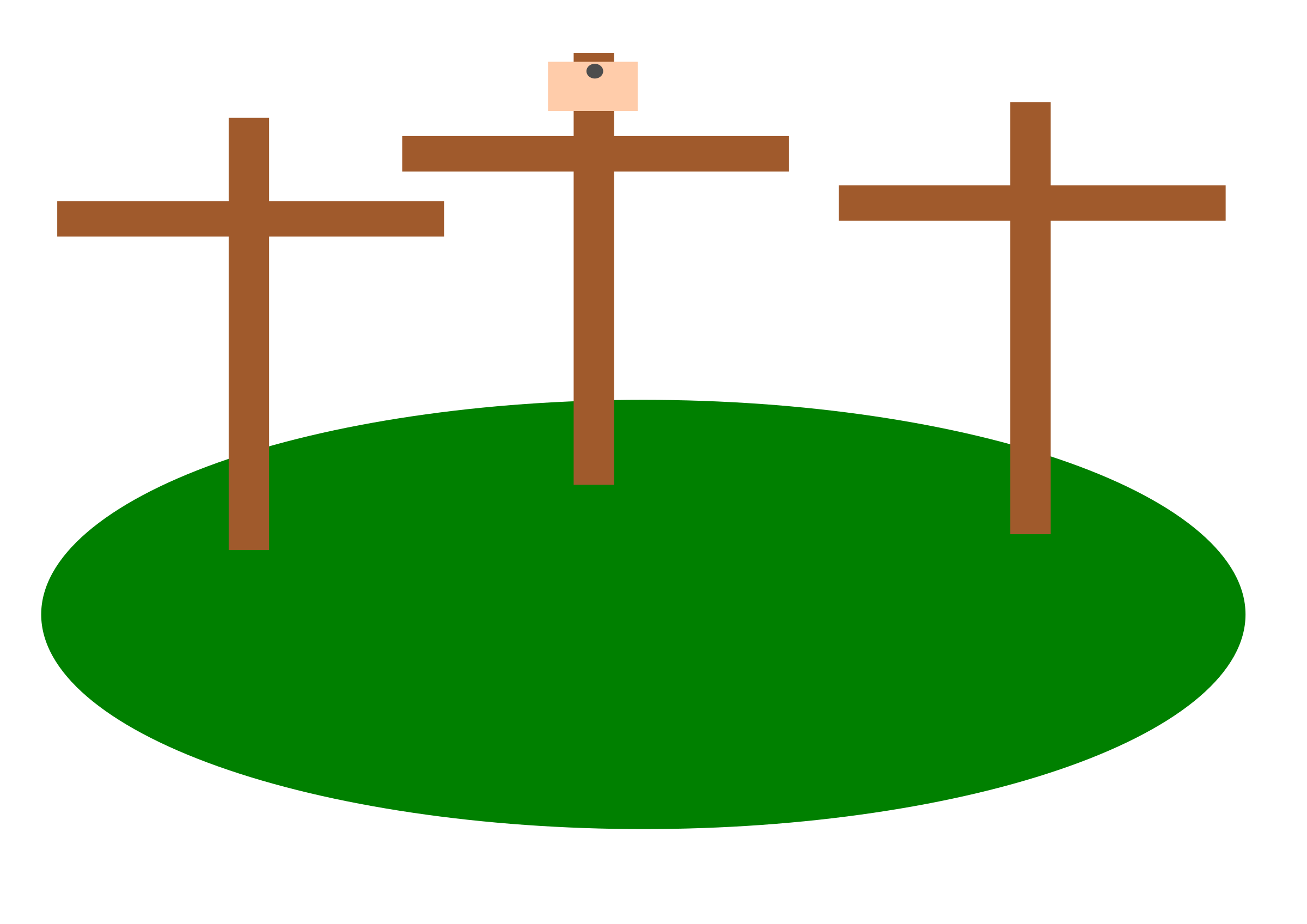 Easter Crosses by logoscambodia