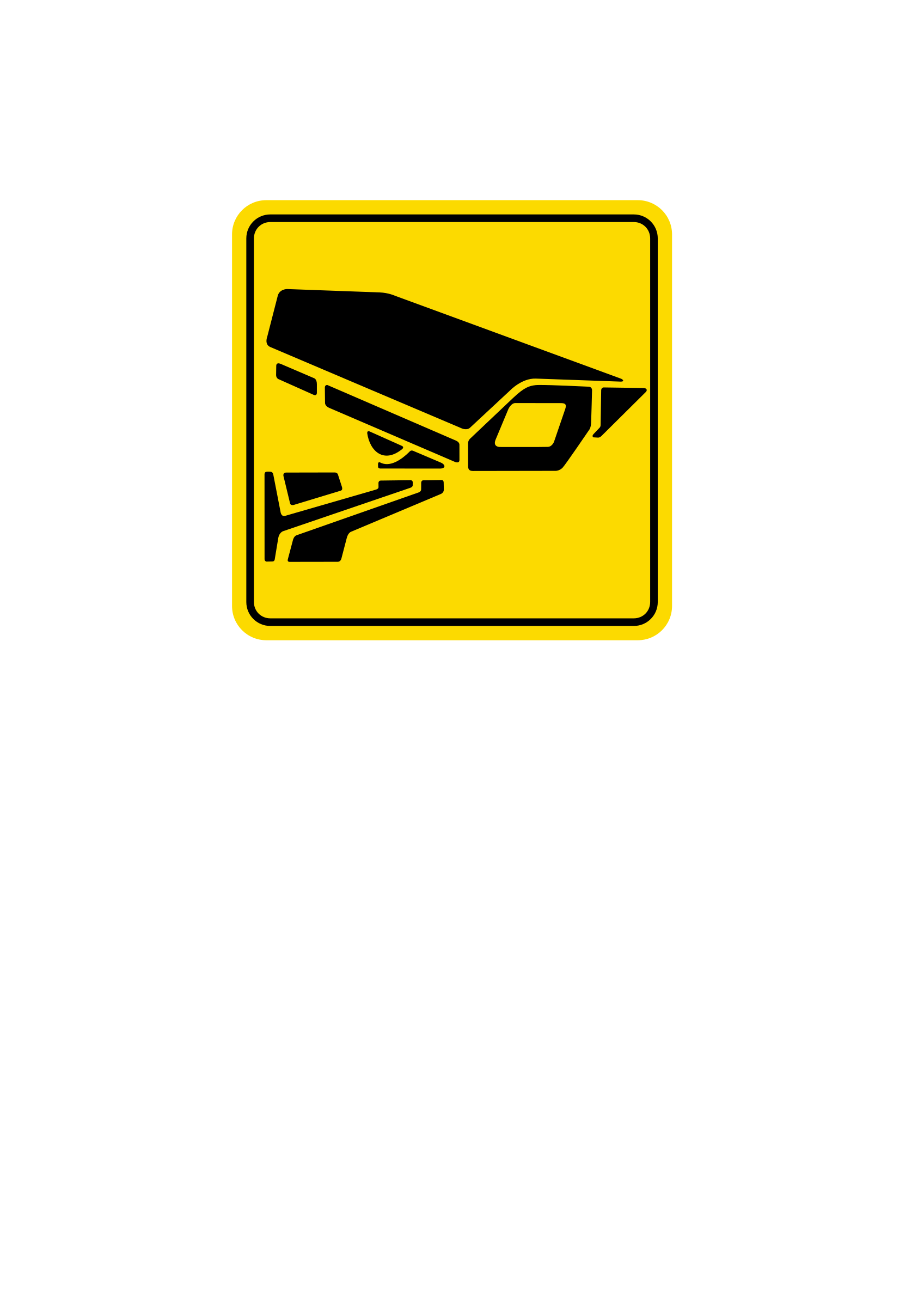 sign CCTV by artyom_rzhanov