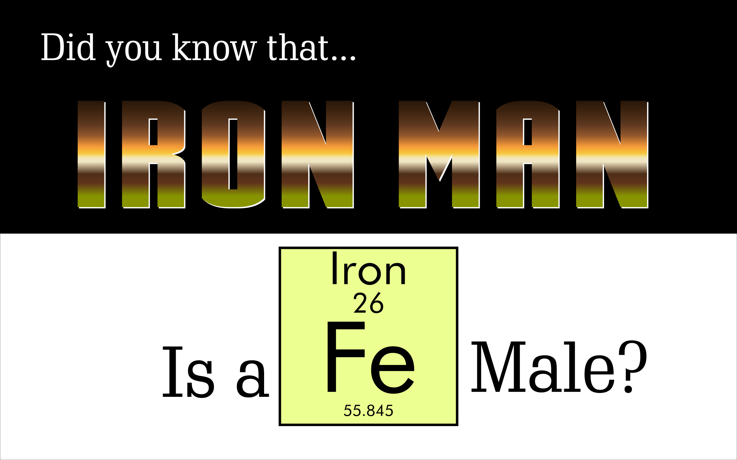 Iron Man Is A Fe-Male by GDJ