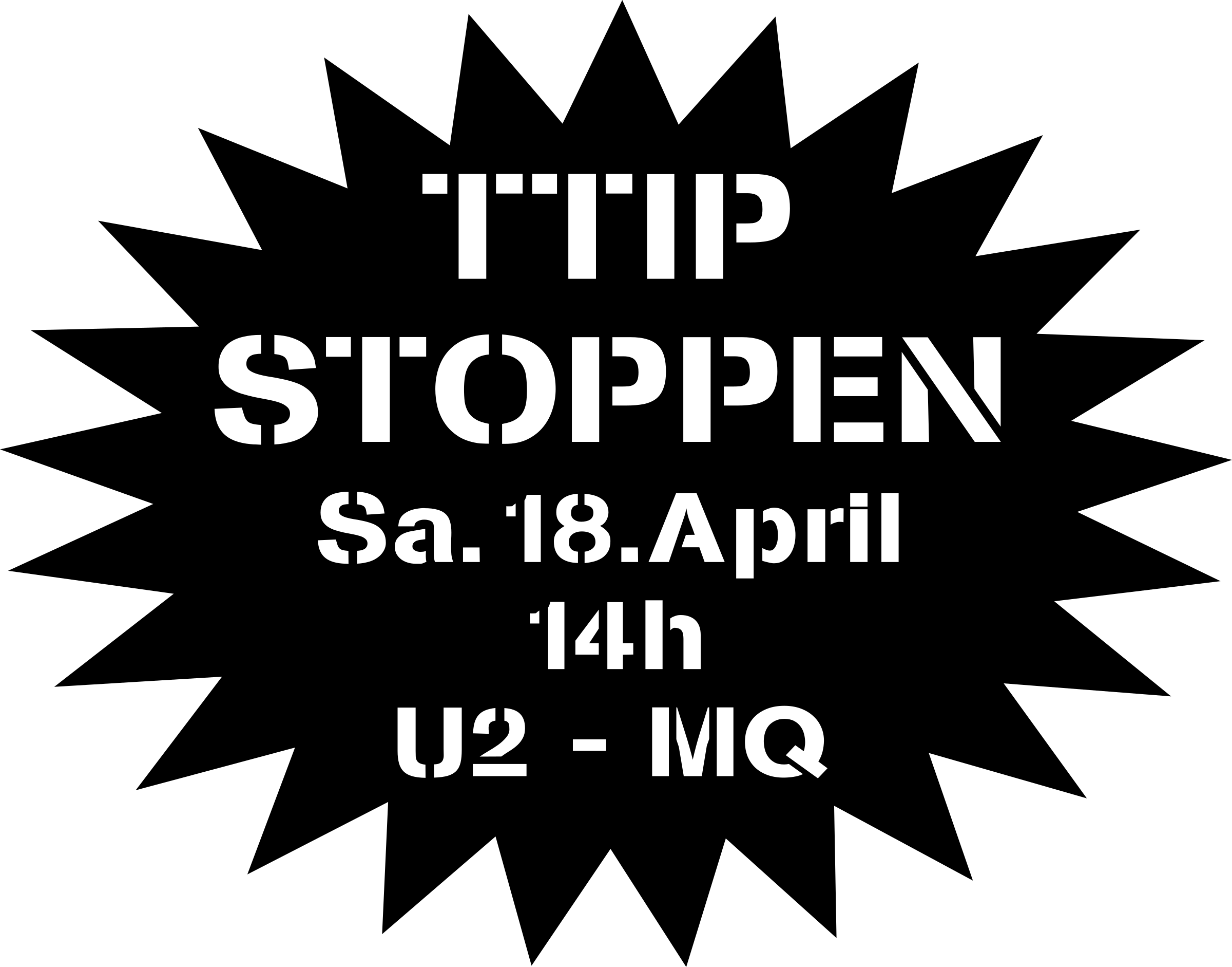 TTIP Demo Stencil & time by Sonstwer