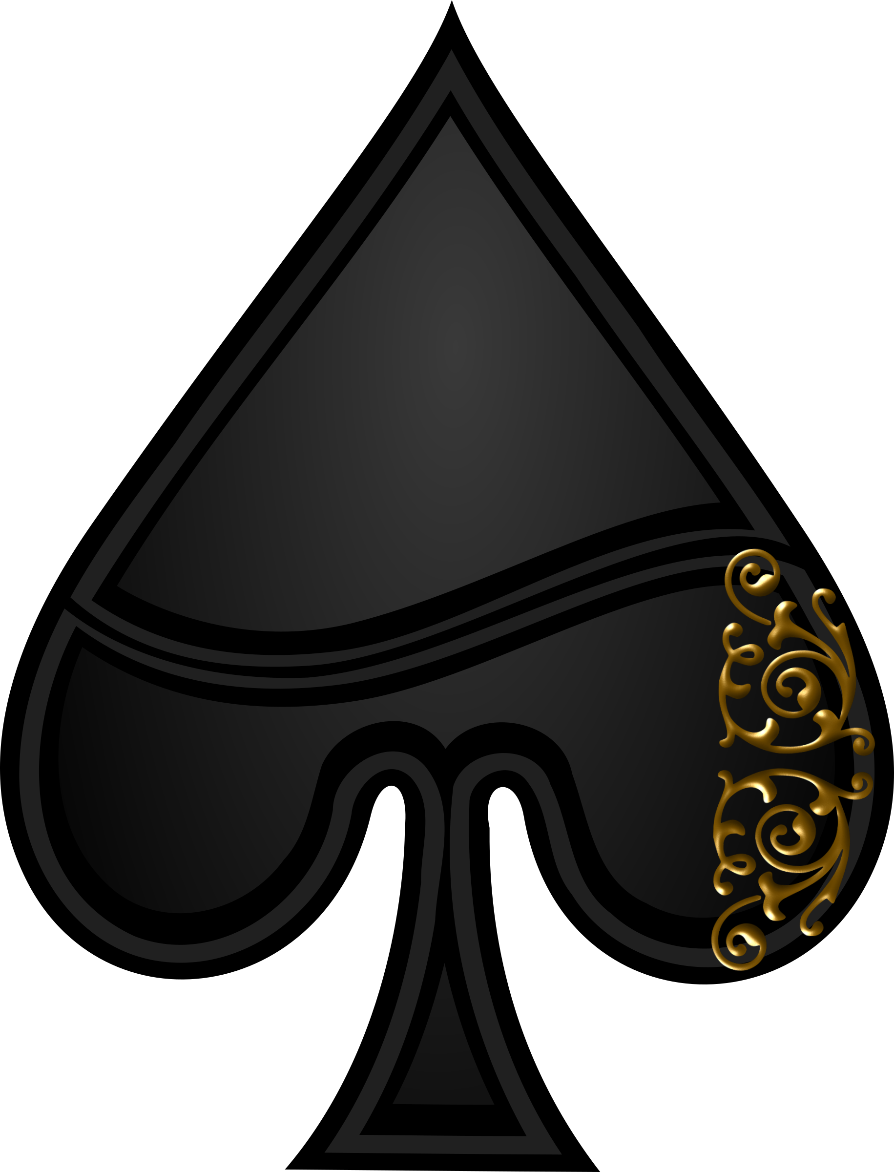 Spades Symbol by Merlin2525