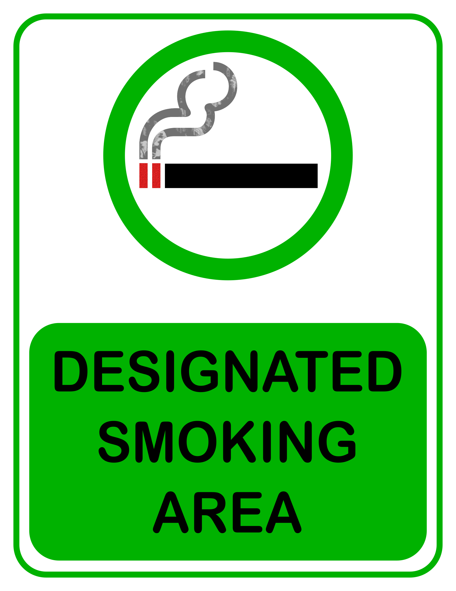 Designated Smoking Area by Arvin61r58