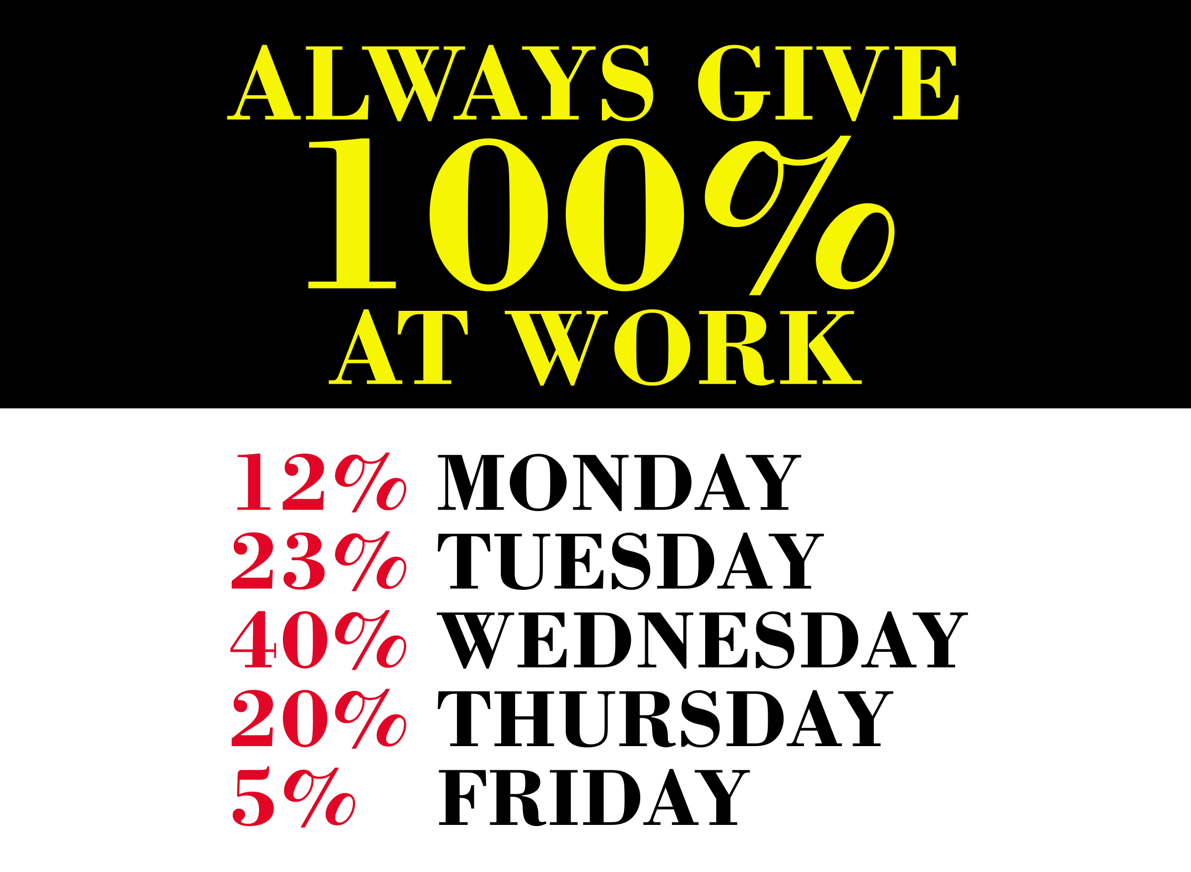 100% At Work by GDJ