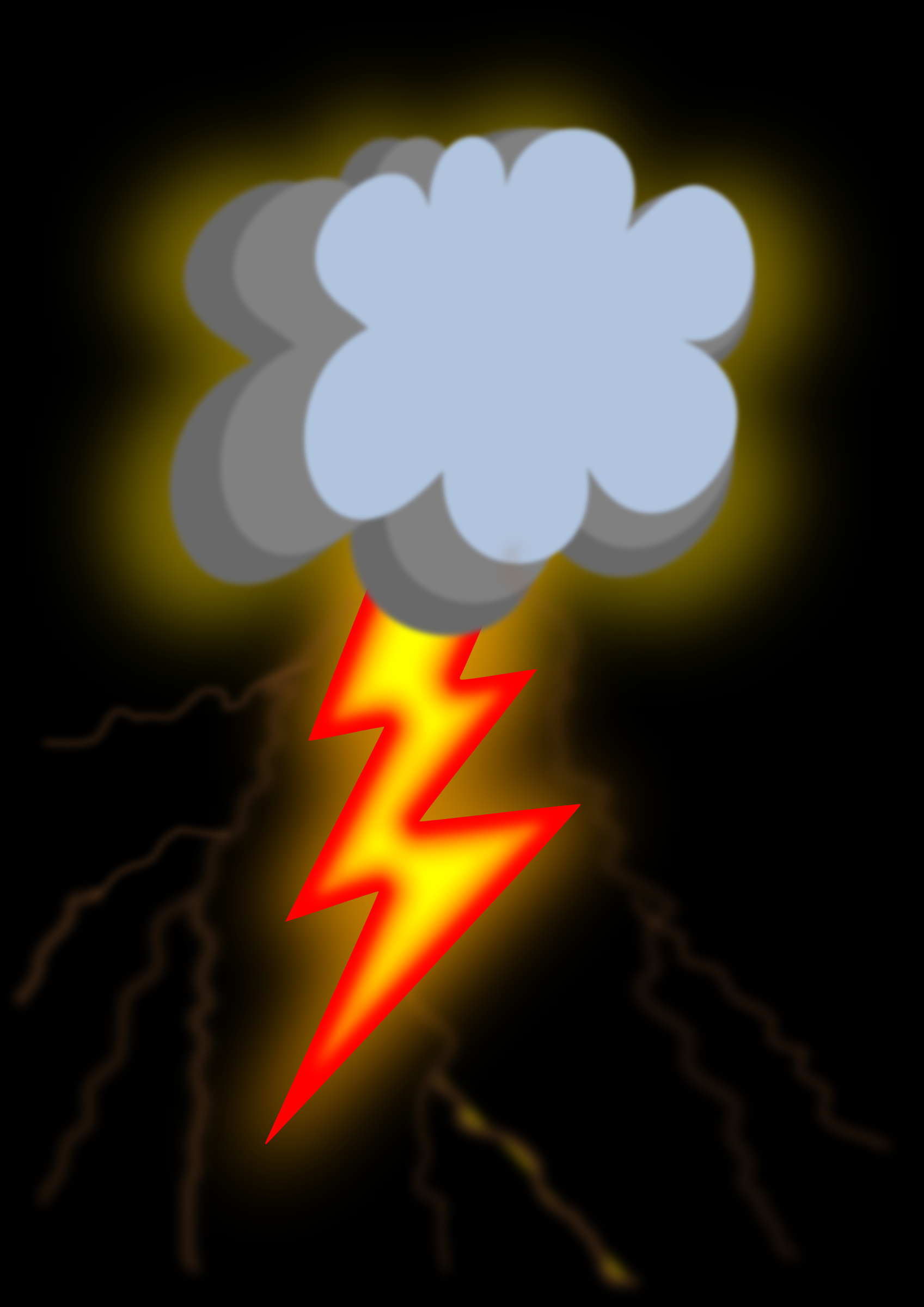 Thunder - Daily Sketch Challenge (#dailysketch)  by Almeidah