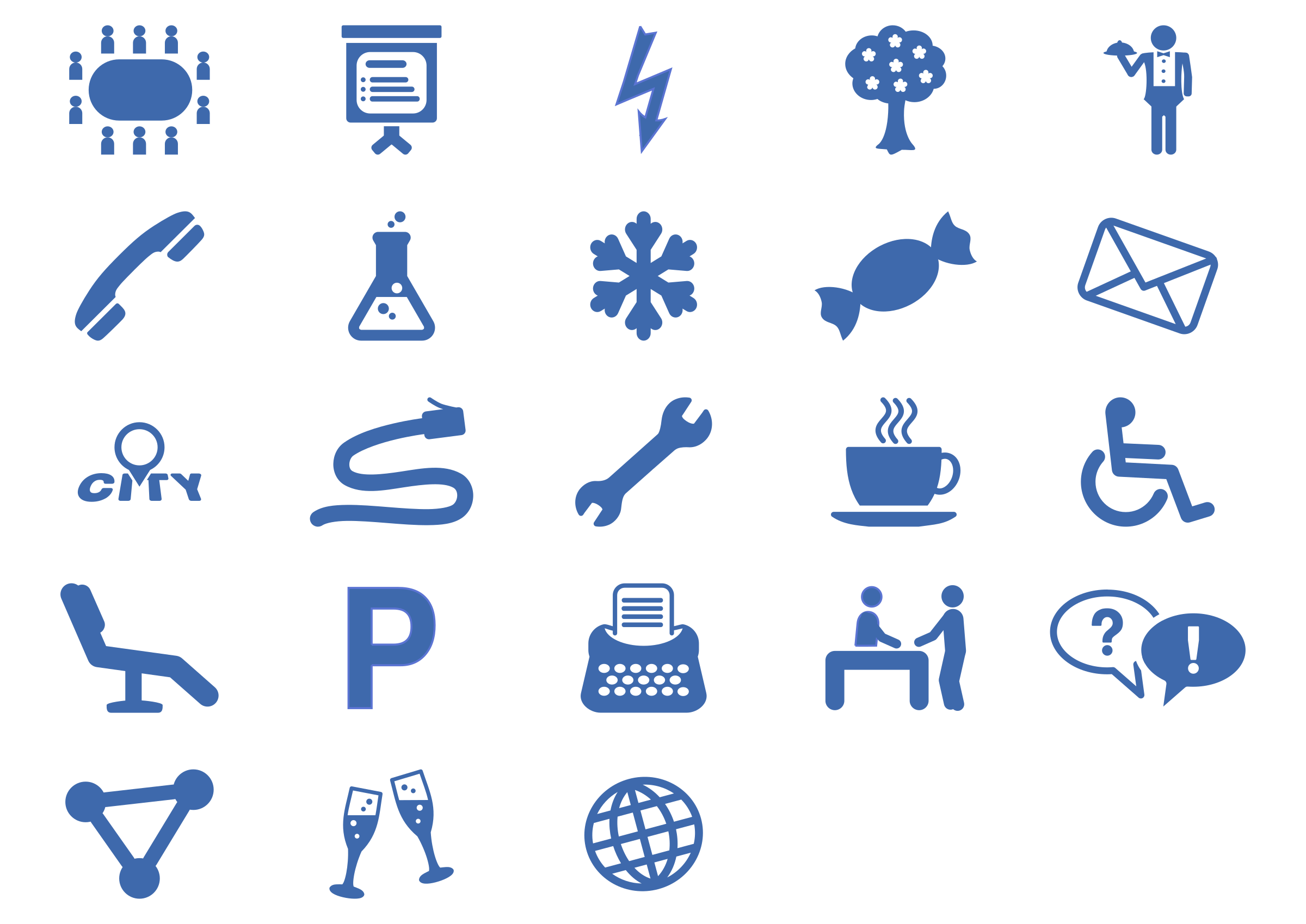Office Services Icon Set by Moini