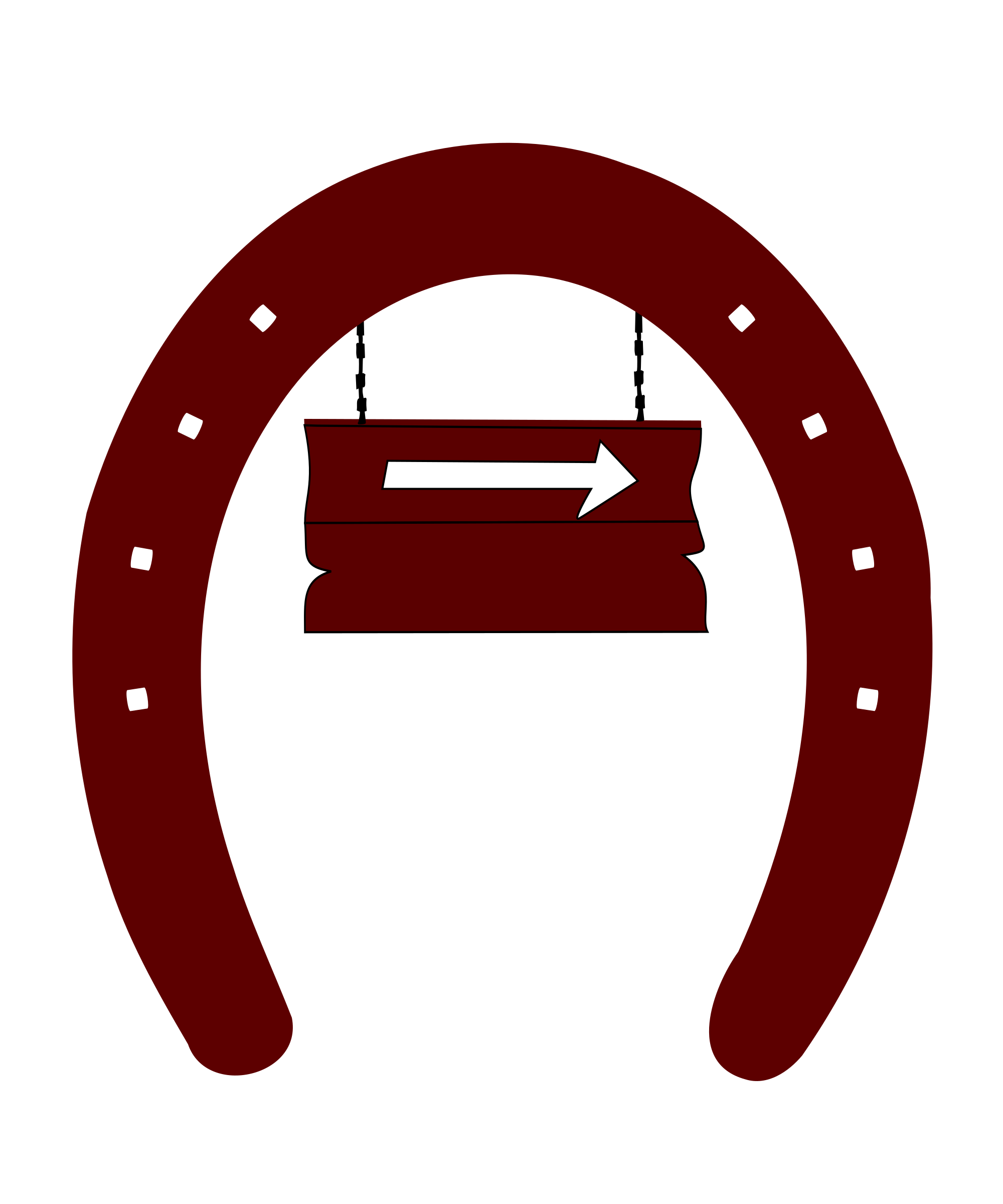 Arrow-sign-horseshoe by yamachem