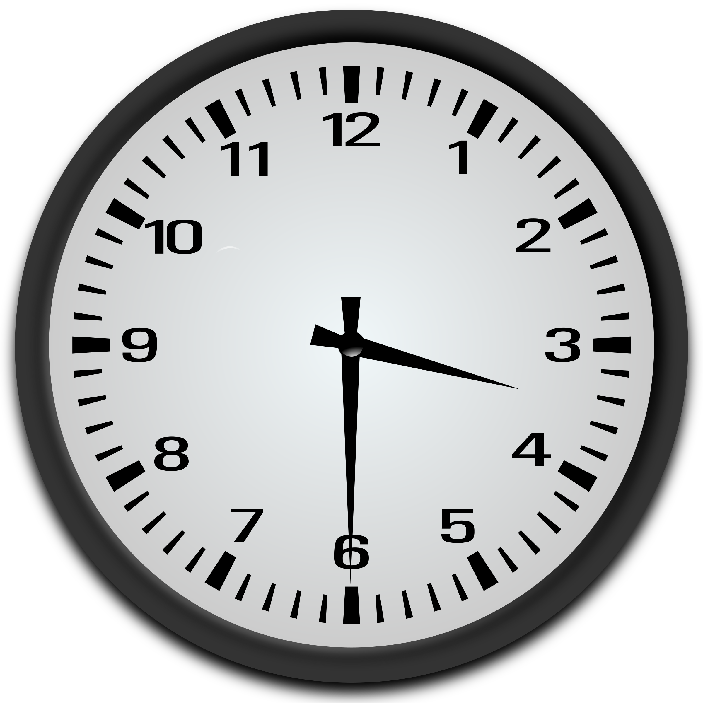 Clipart Half Past 3 O Clock