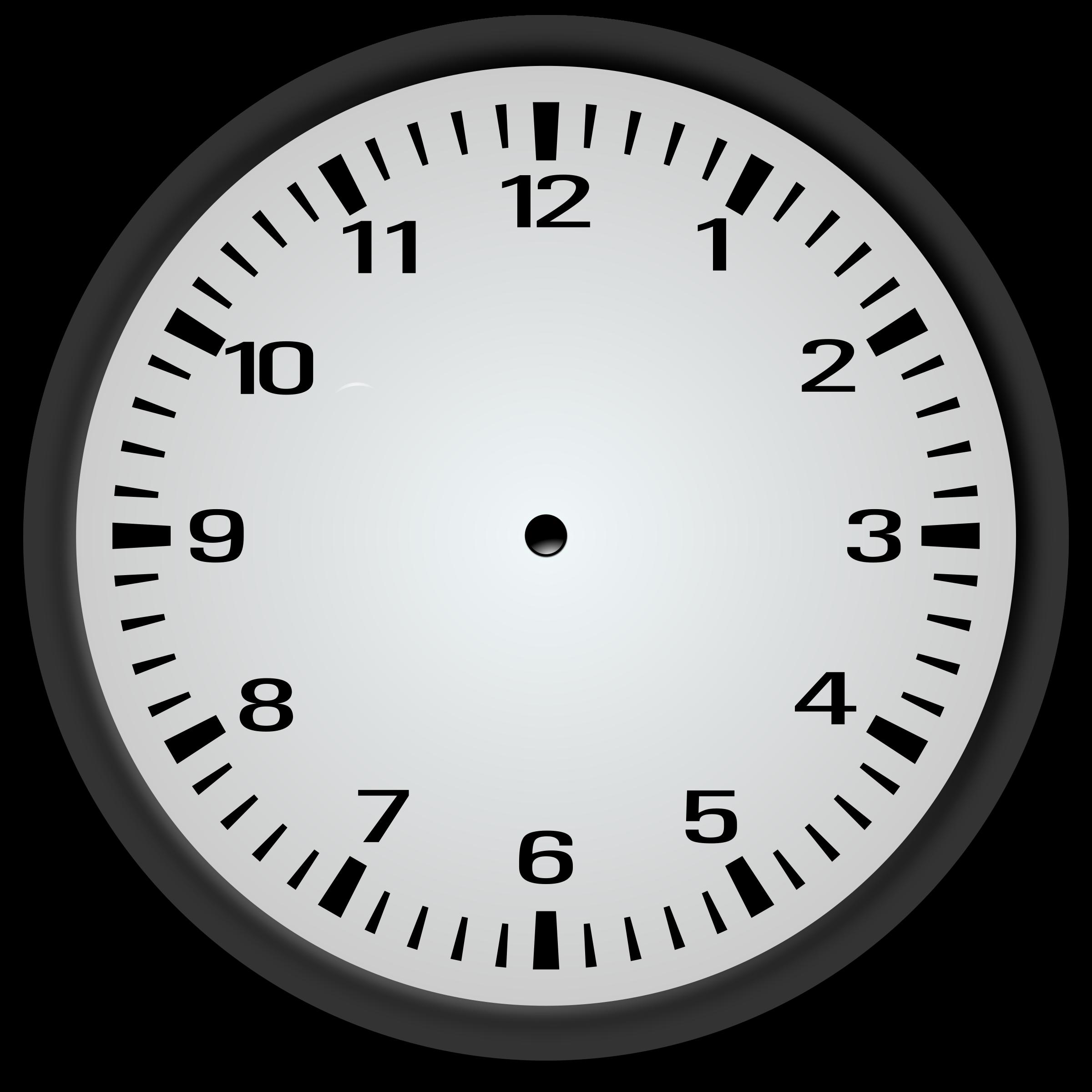 worksheet Blank Analog Clock clipart blank clock by hypocore