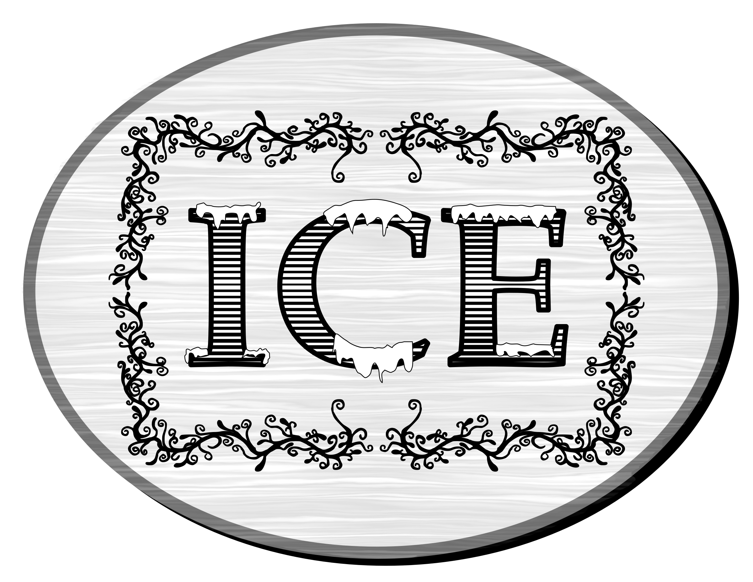 Ice Sign by Arvin61r58