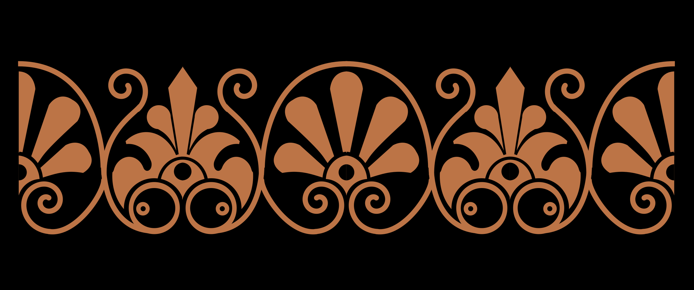 Ornamental pattern from an ancient Greek vase by anarres