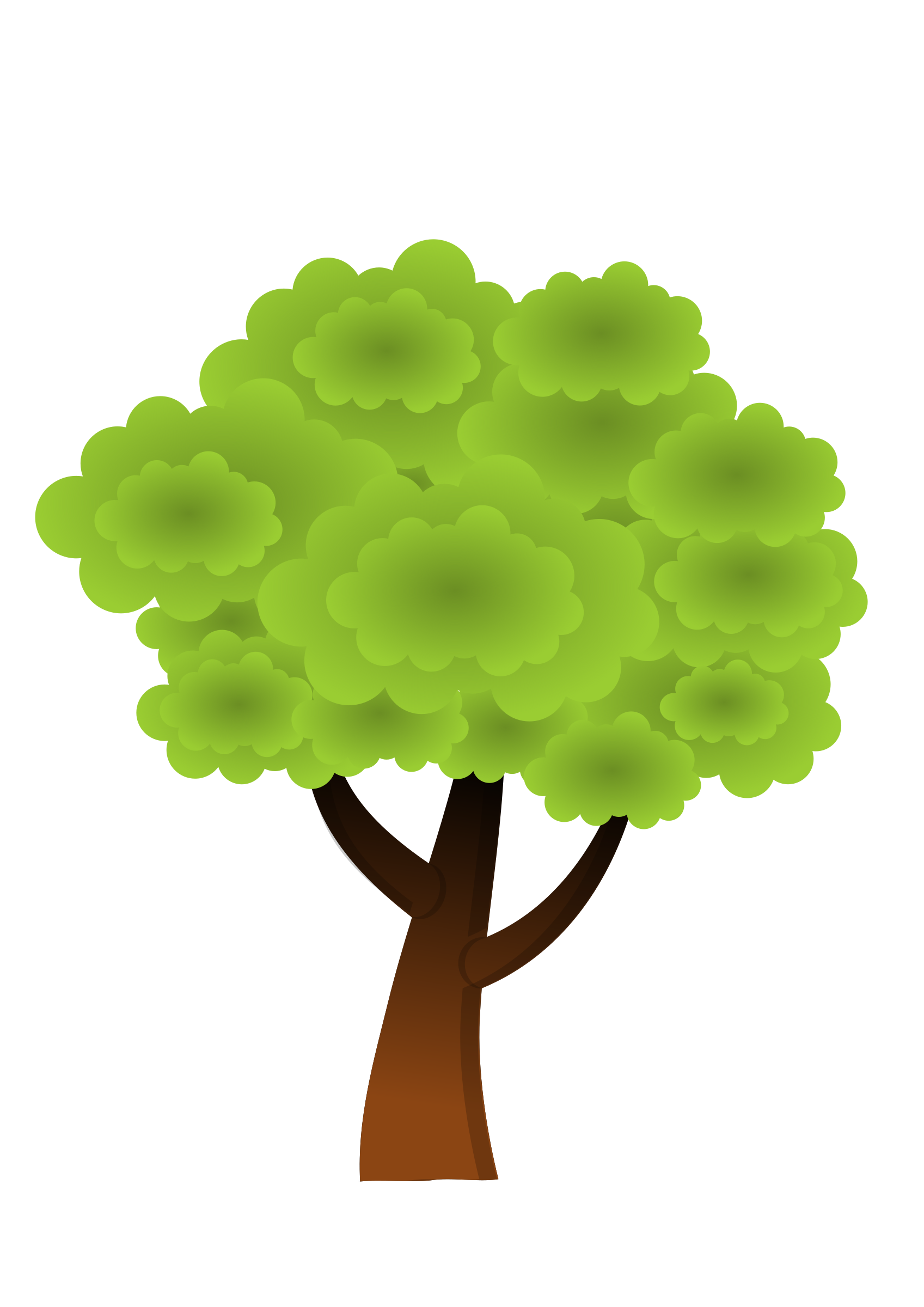 A simple tree #2 by Almeidah