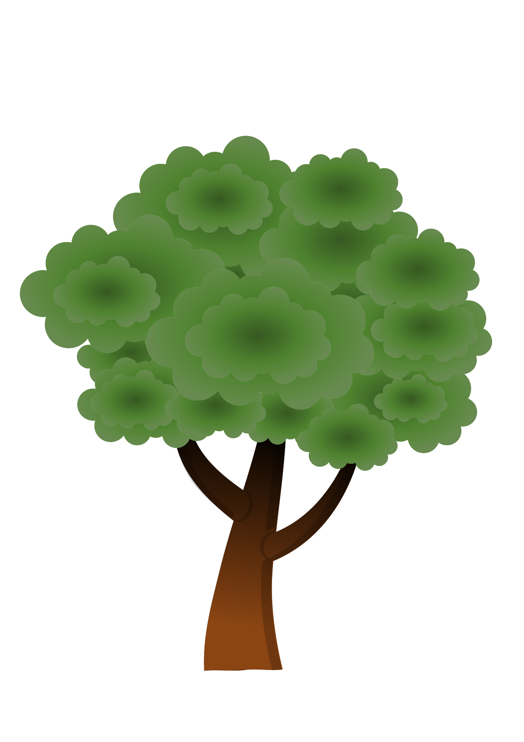 A simple tree #3 by Almeidah