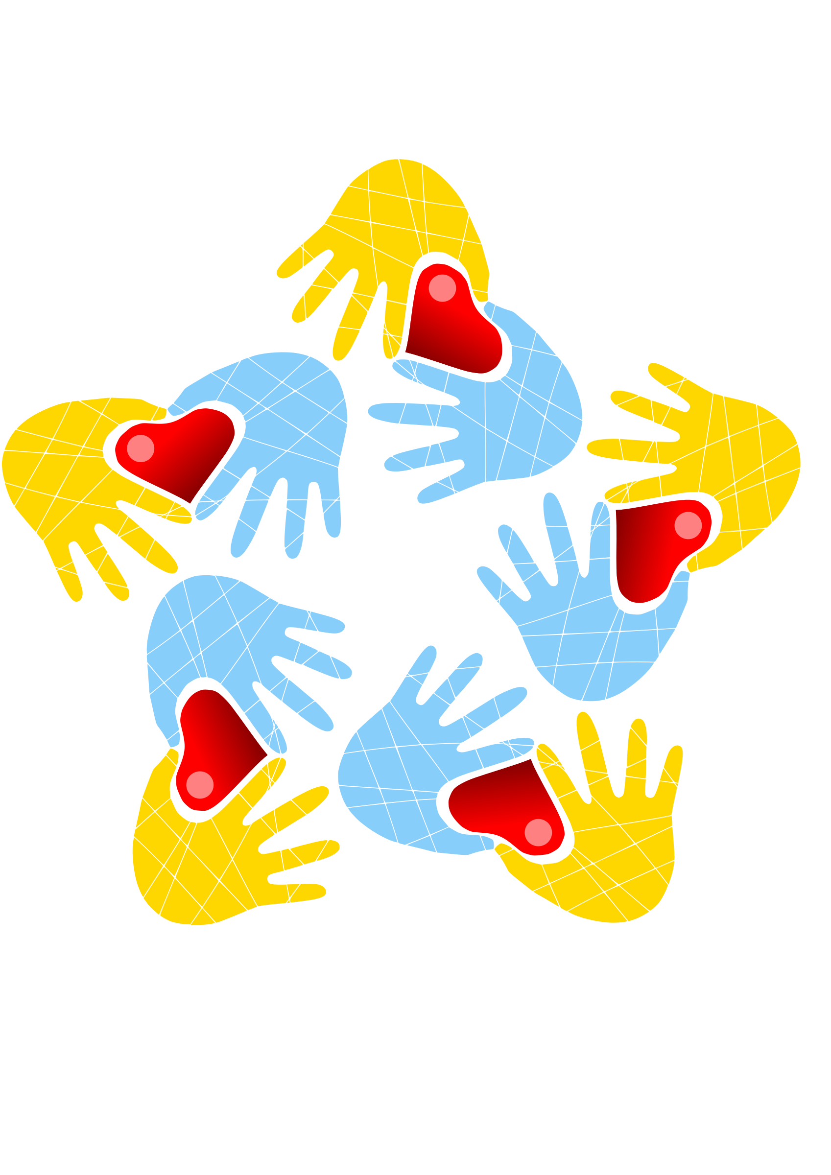 Hands and hearts - #request by Almeidah
