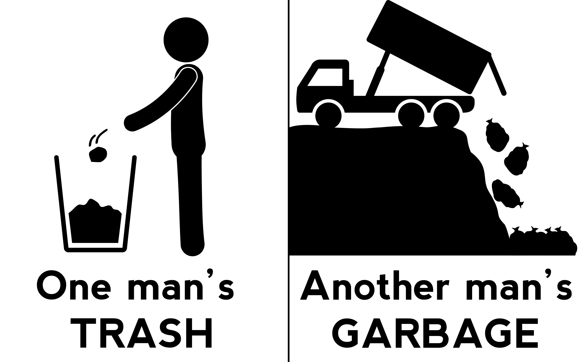 One Man's Trash by GDJ