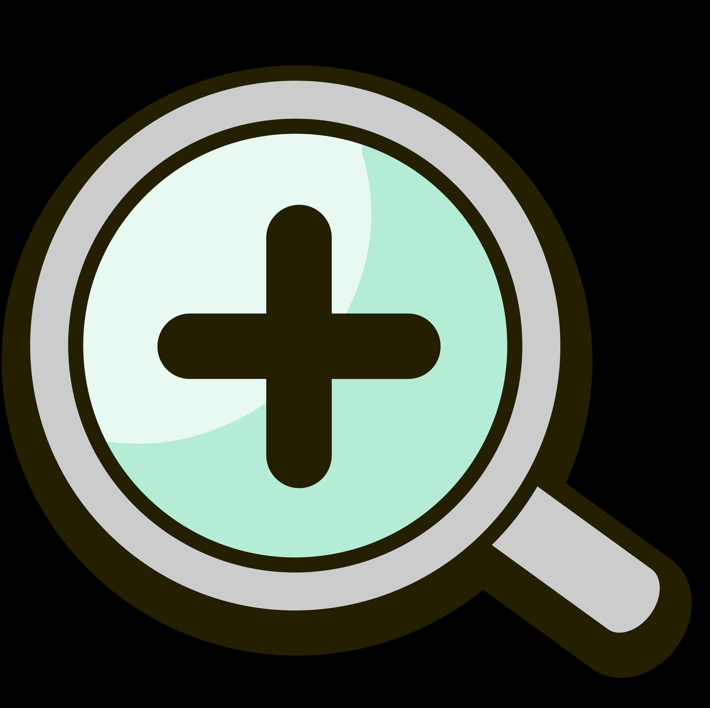 Clipart - Make image bigger icon