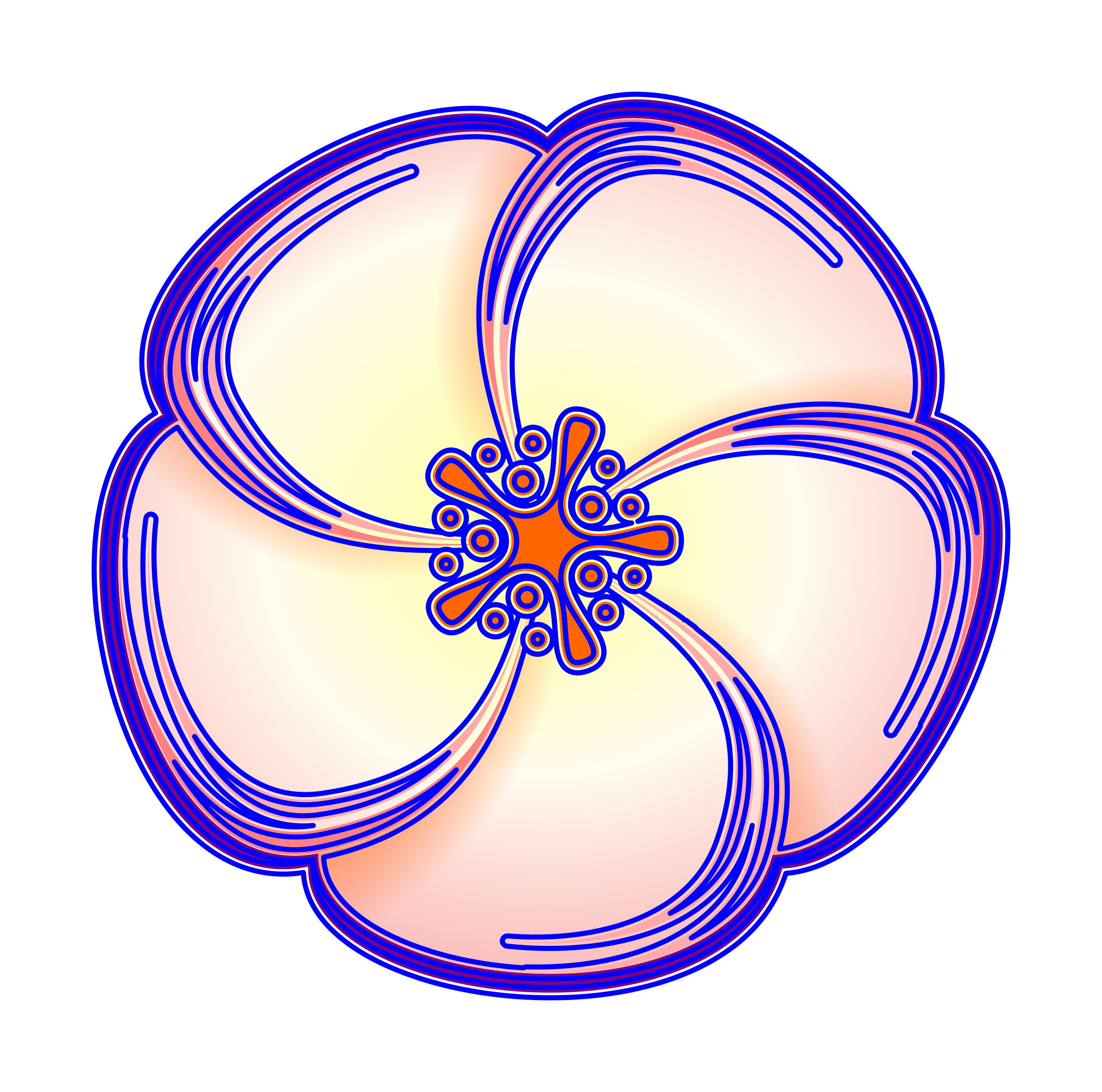 Flower iteration #3 by m1981