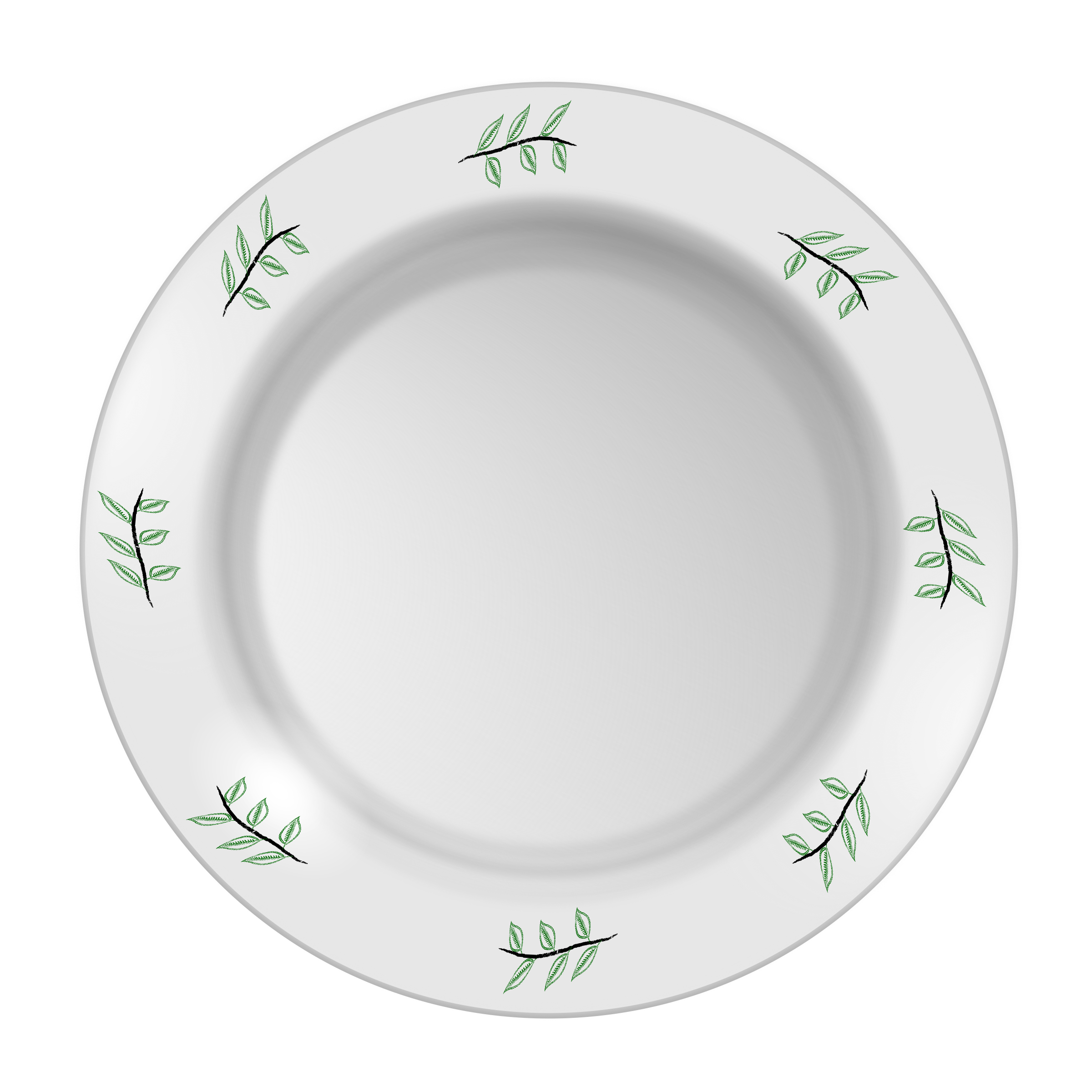 clipart plate with leaf pattern dinner plate clipart brown dinner plate clip art images