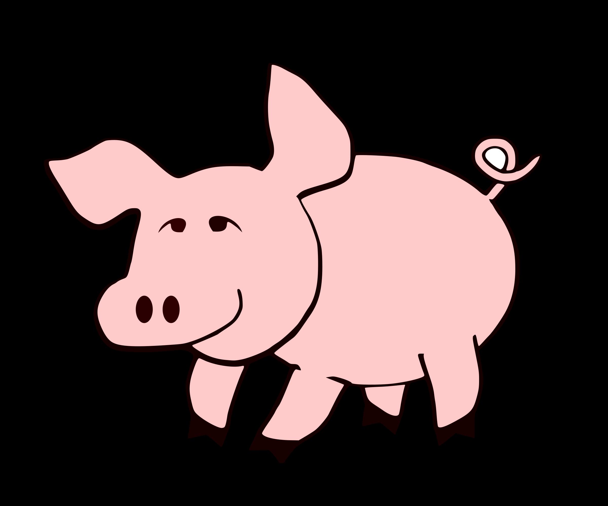 Clipart - Pig-remix