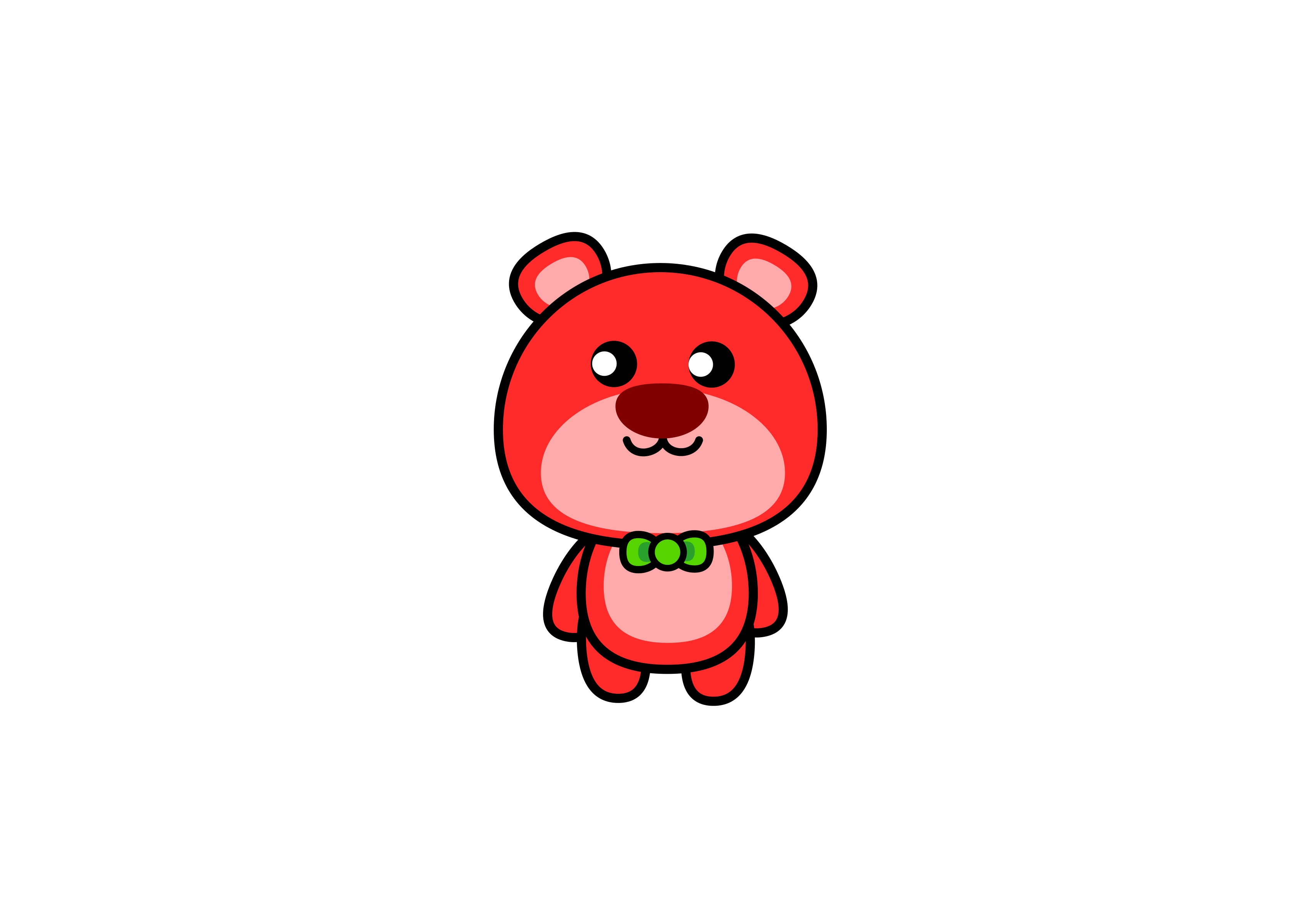 cherry bear by 540awei