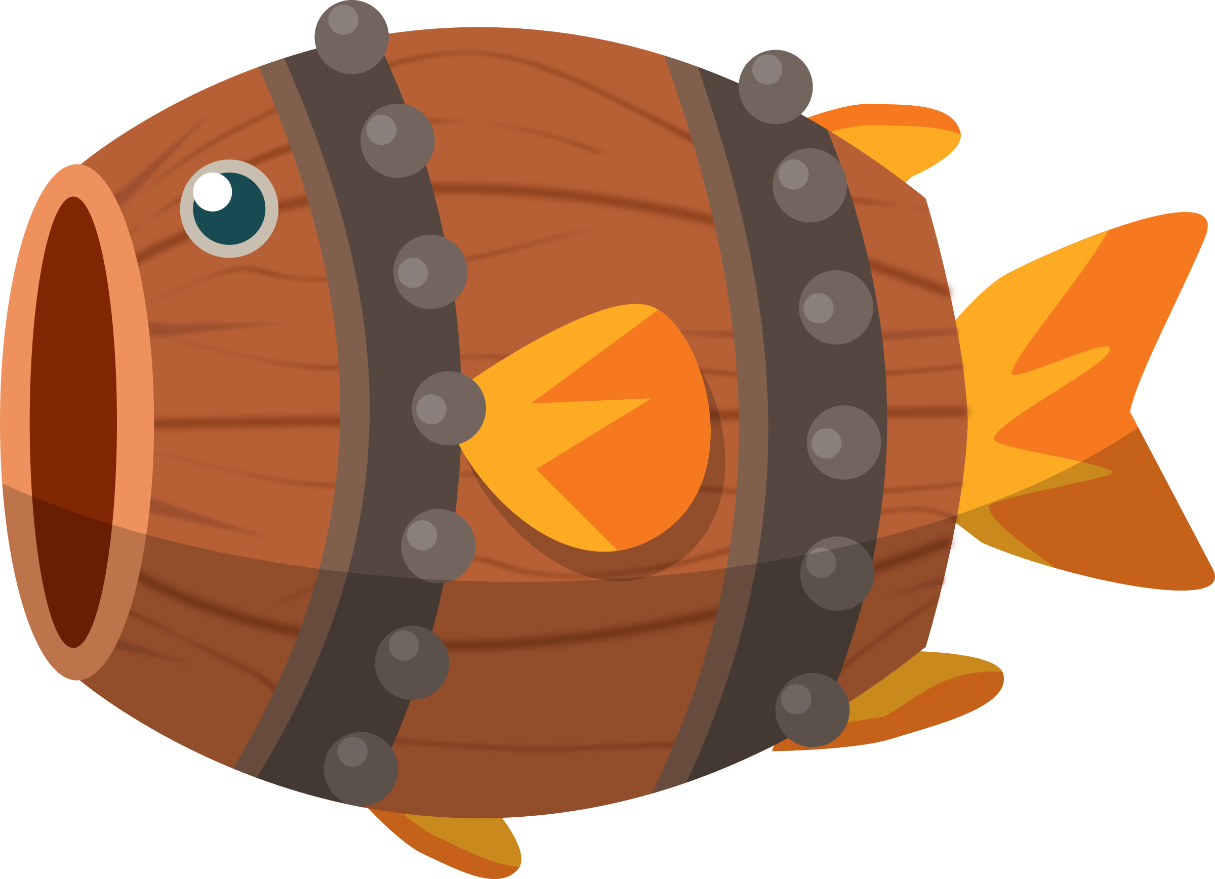Barrel Fish by TheJChaps