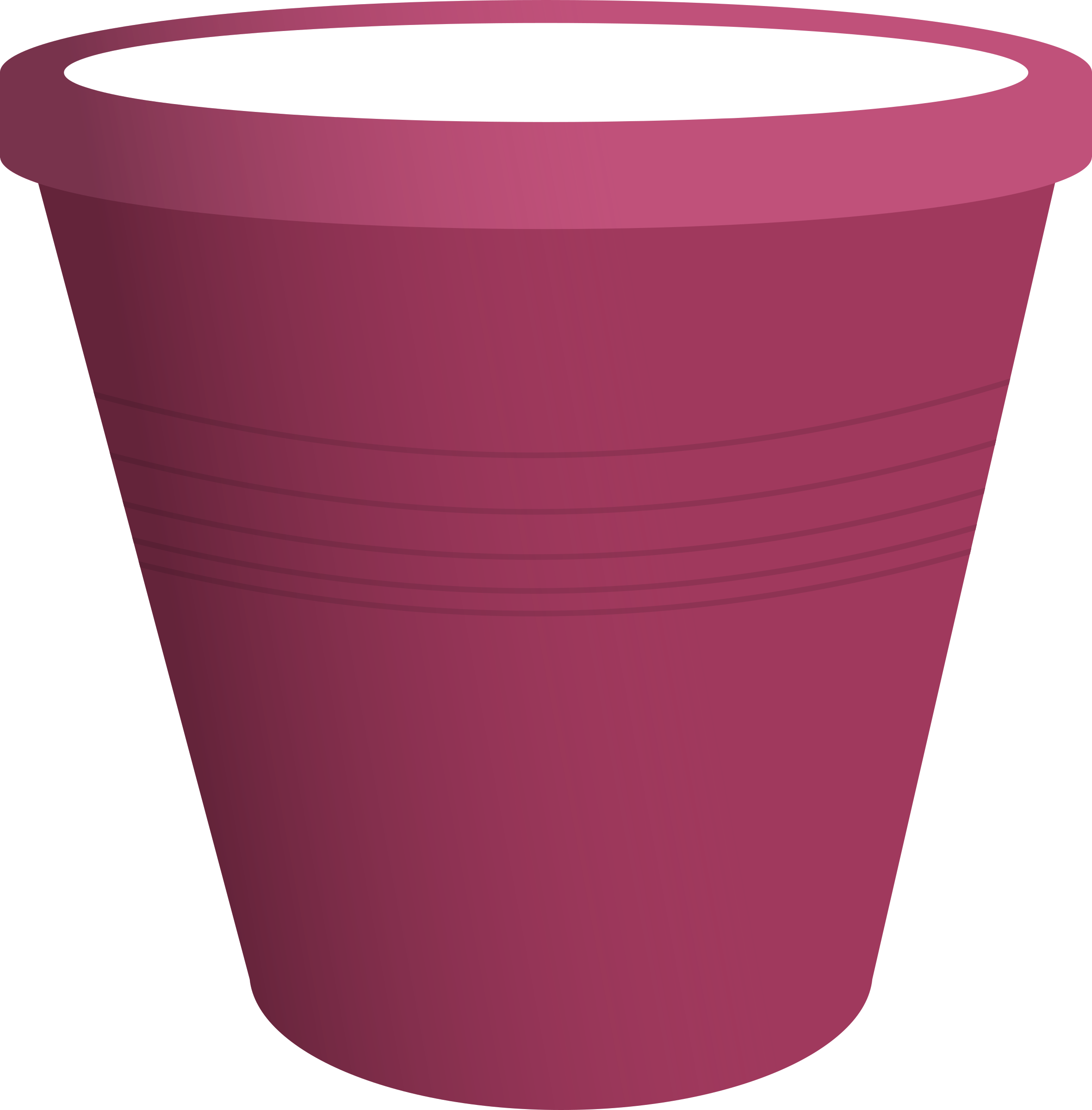 Pink Plastic Bucket by TheJChaps