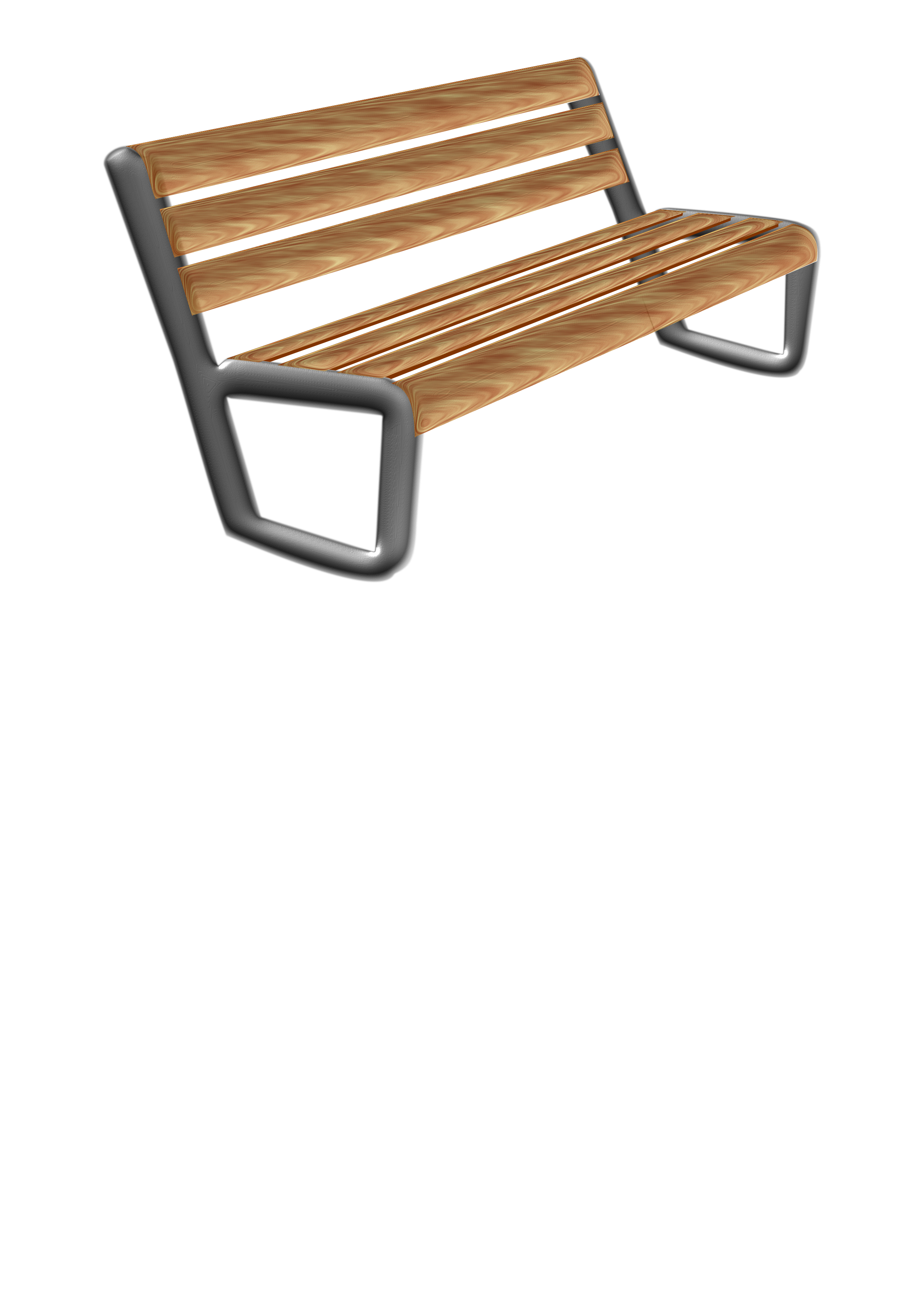Modern bench - Banco moderno by rayucar