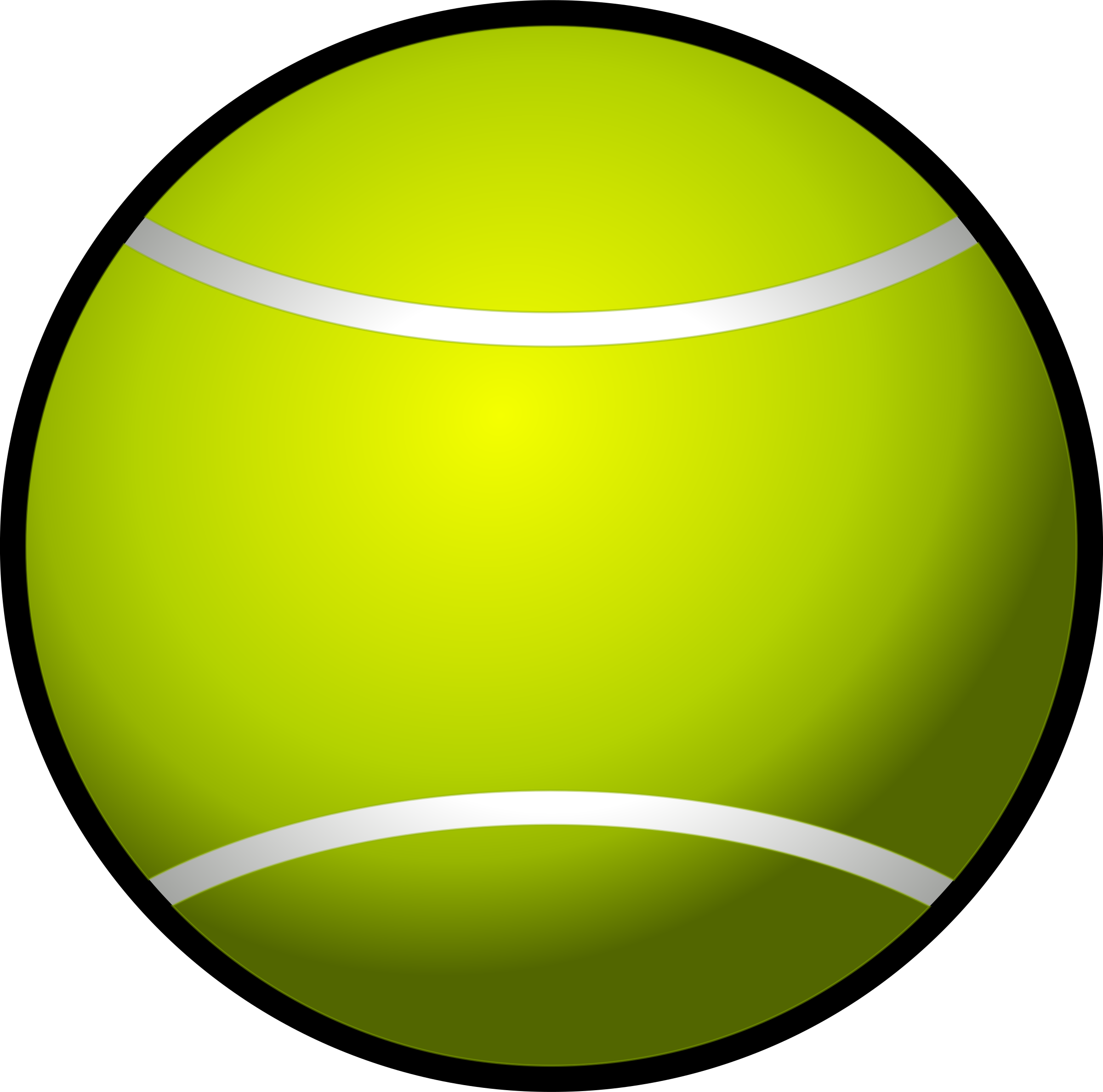 tennis ball simple by Chrisdesign