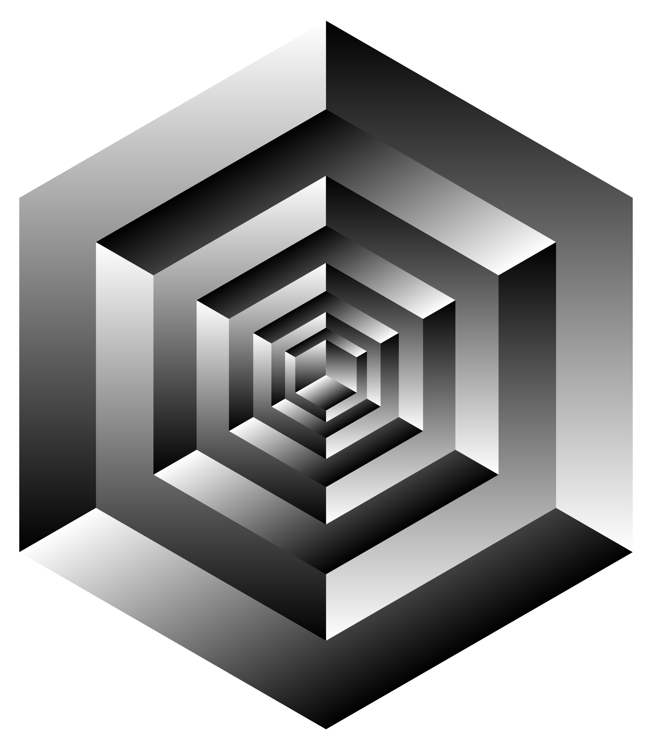 Isometric Cube Illusion by GDJ