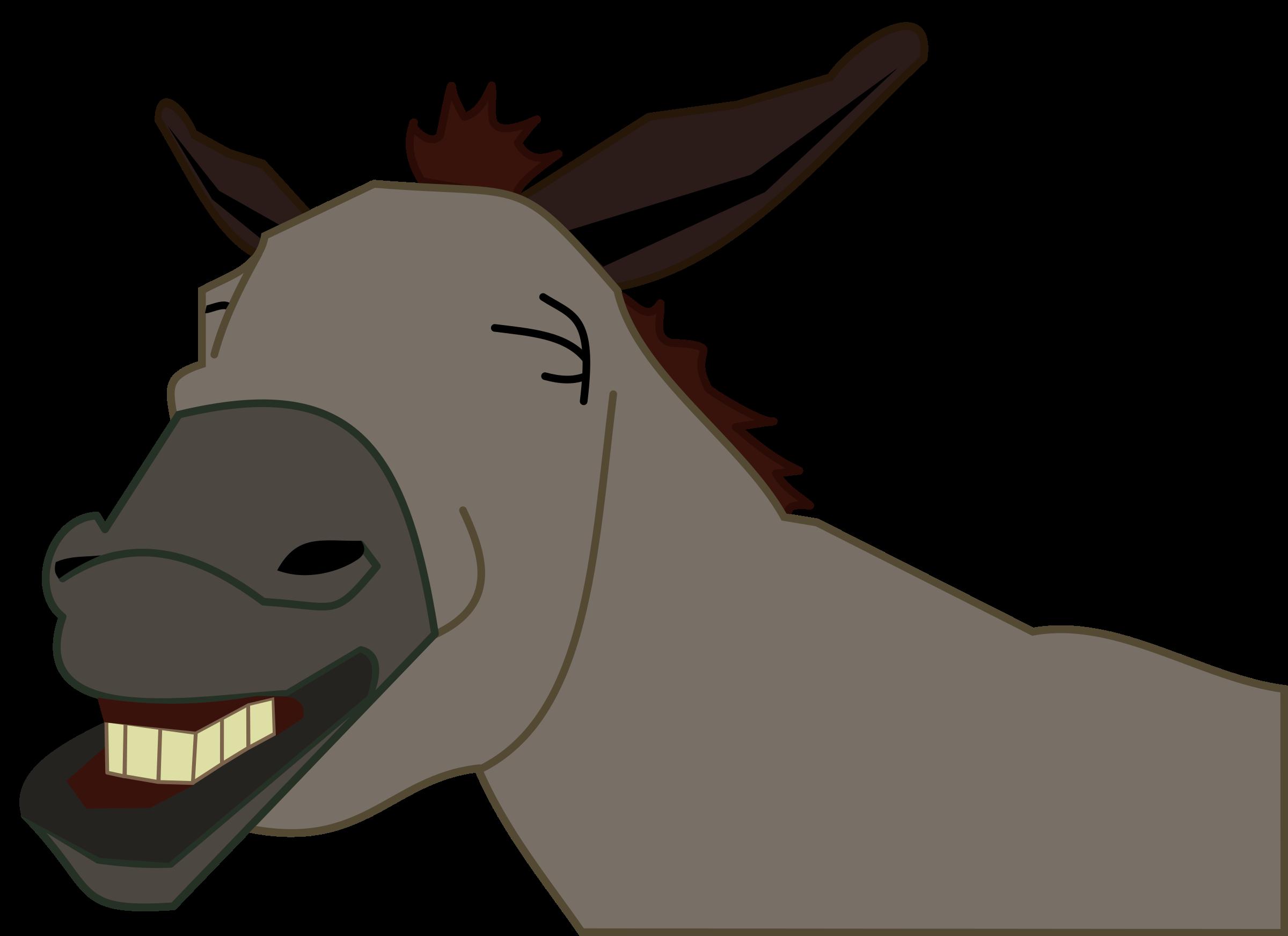 Clipart - Donkey