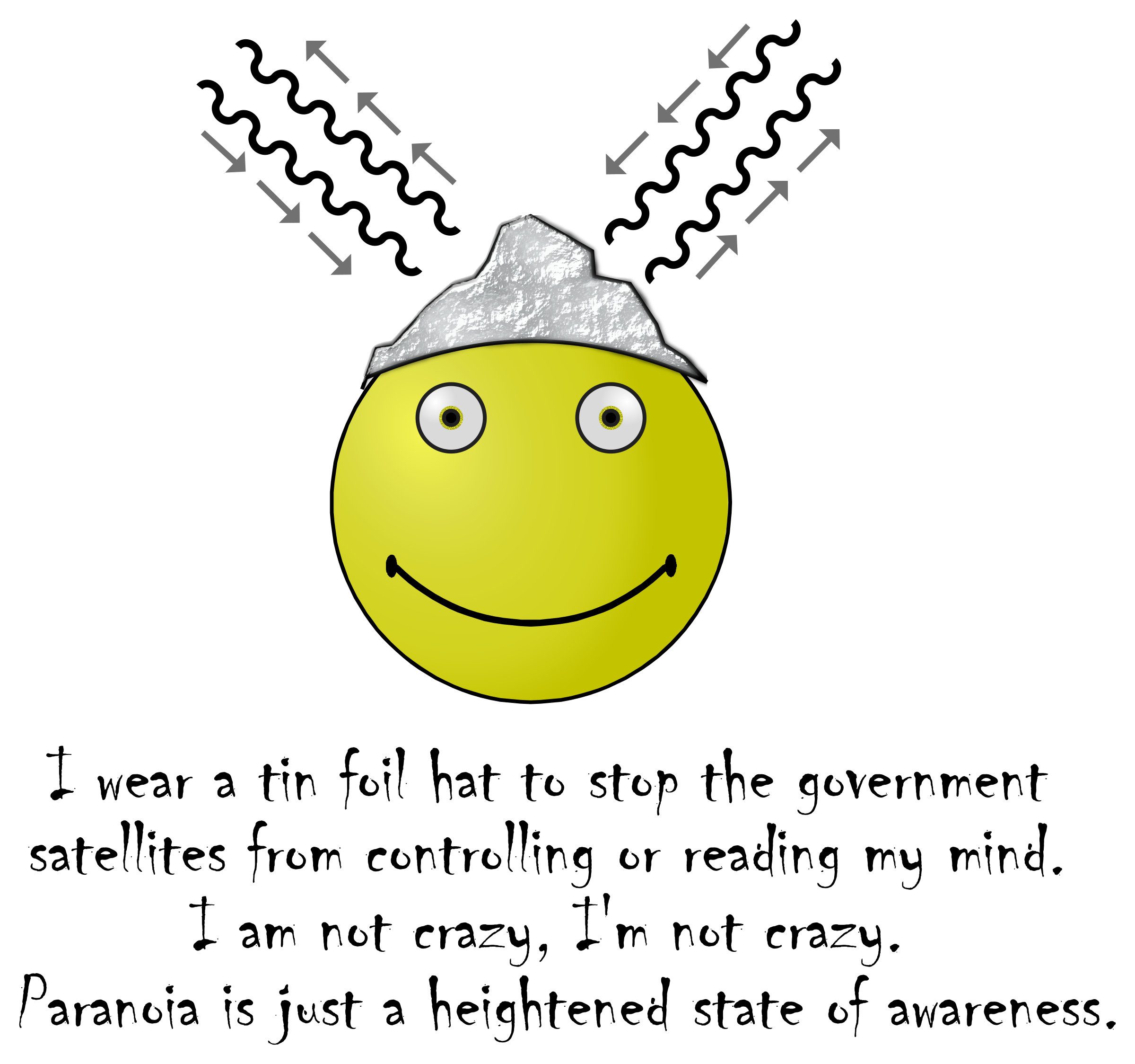 Tin Foil Smiley by Arvin61r58
