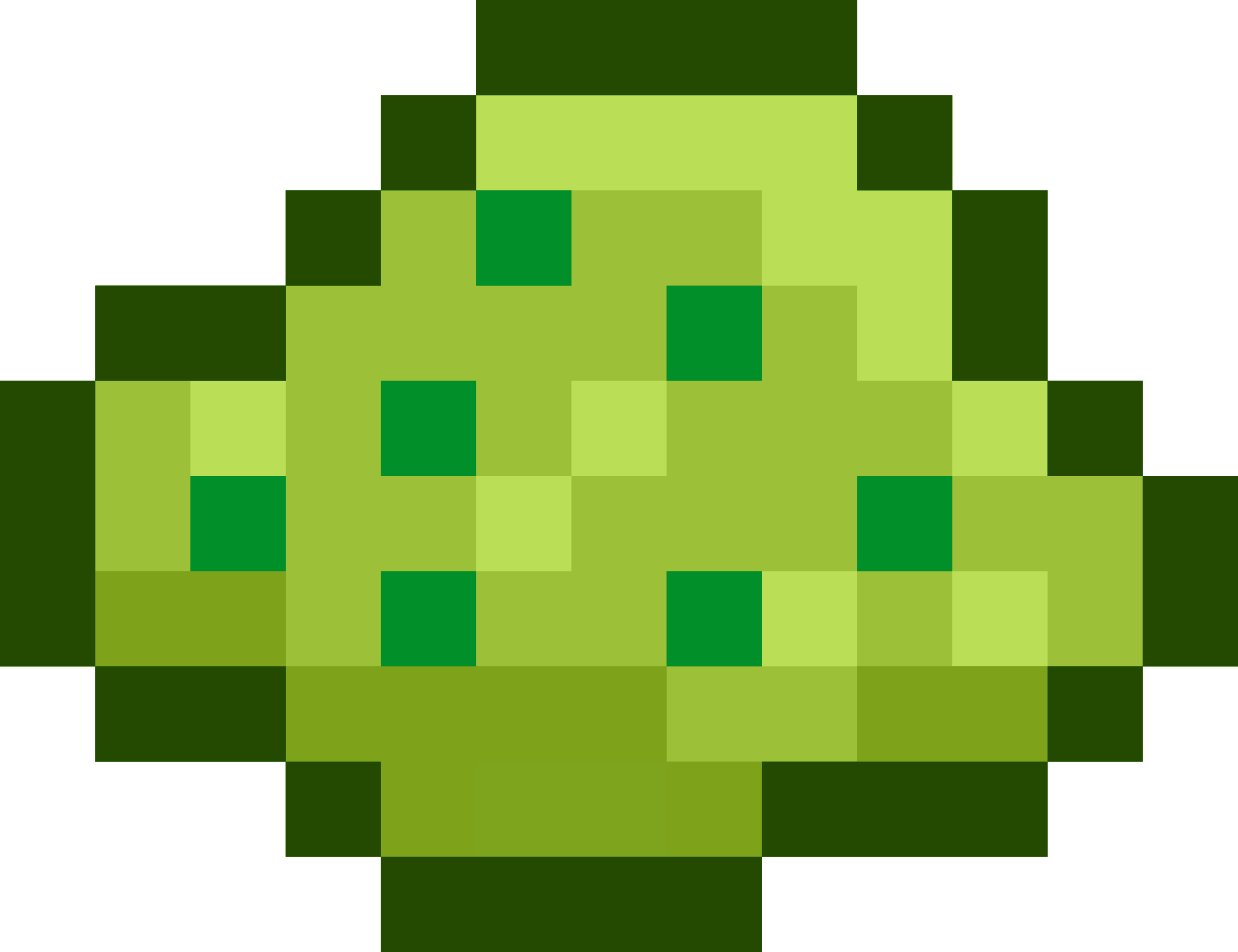 Pixel Berry Bush by isaiah658