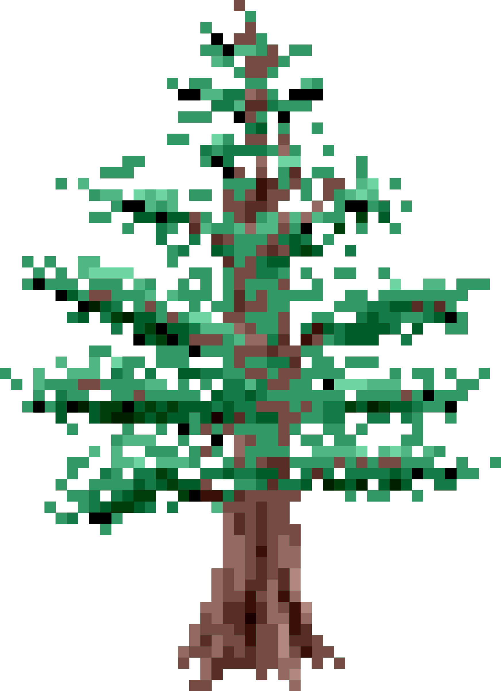 Pixel Pine Tree by isaiah658
