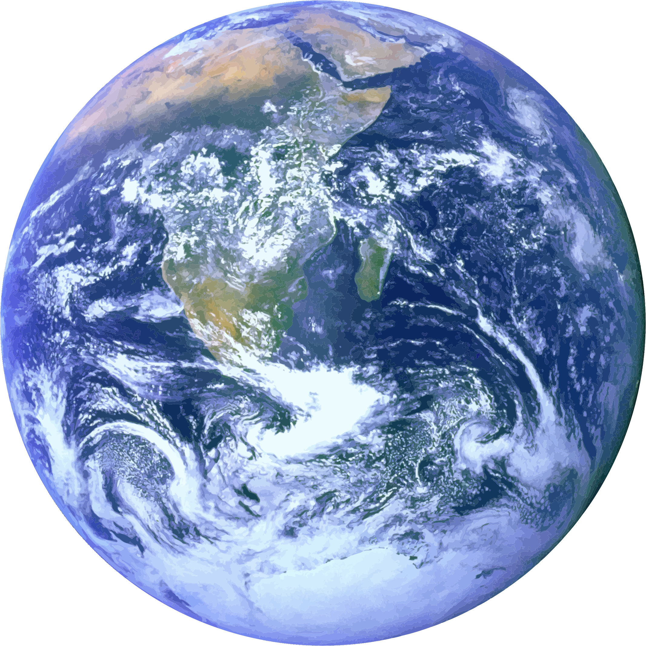 Clipart - Blue Marble (Earth)