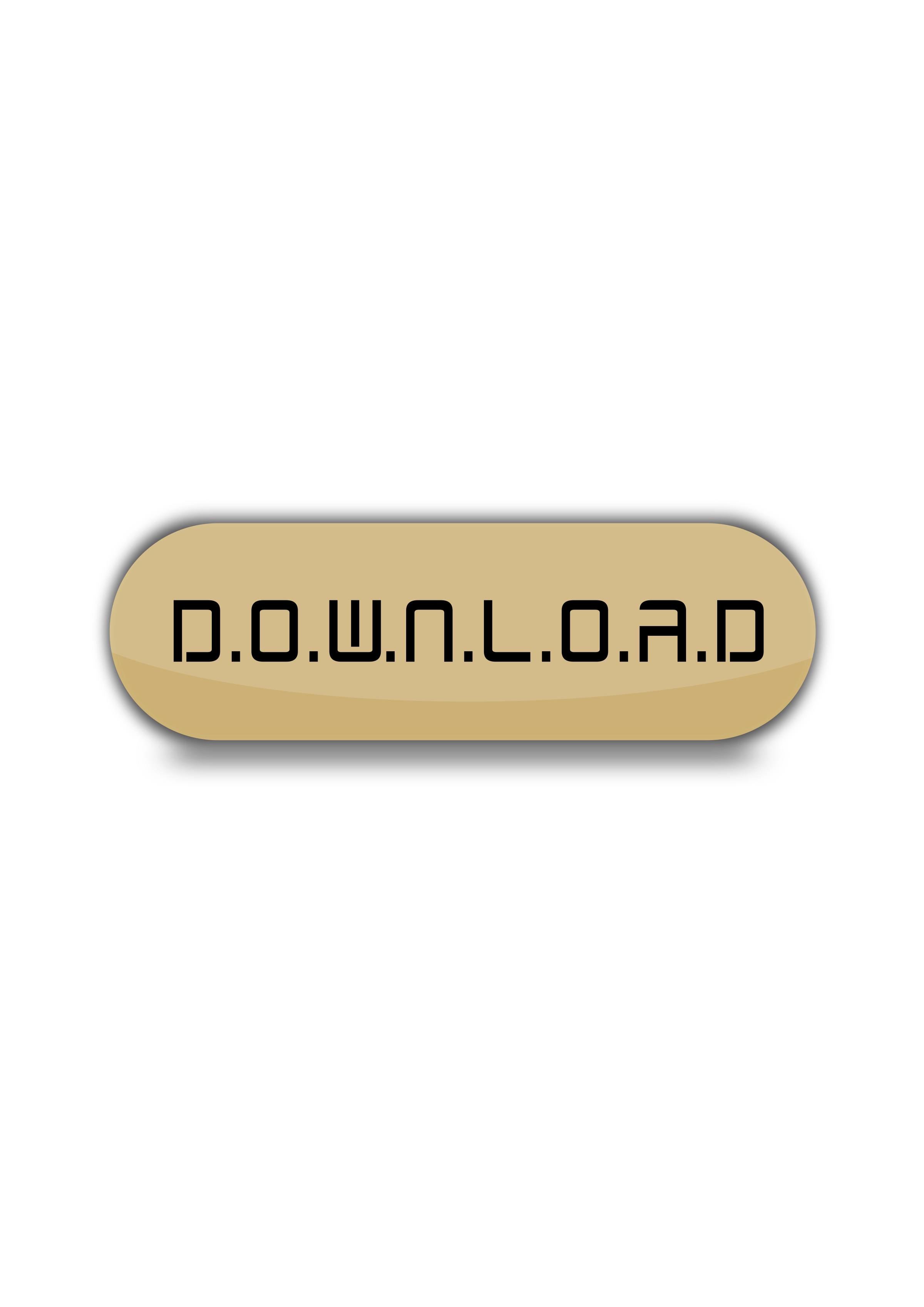 Download button brown colour by bloggerpenajam