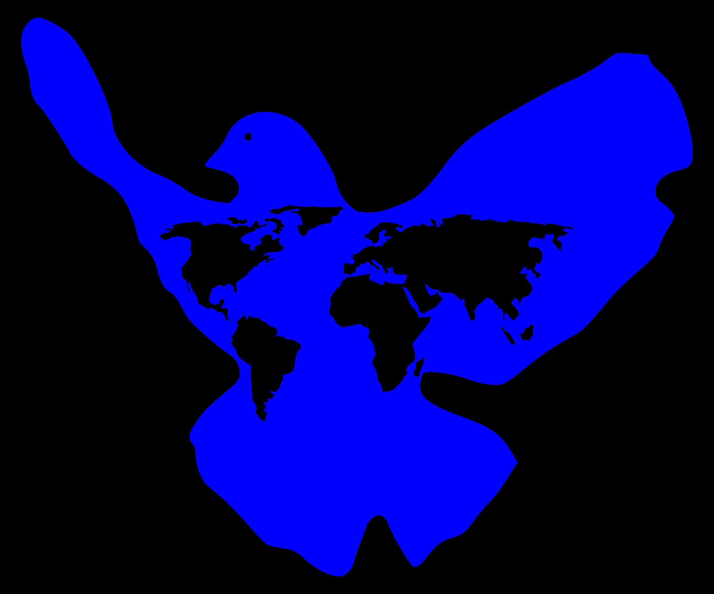 Clipart - World Peace Dove