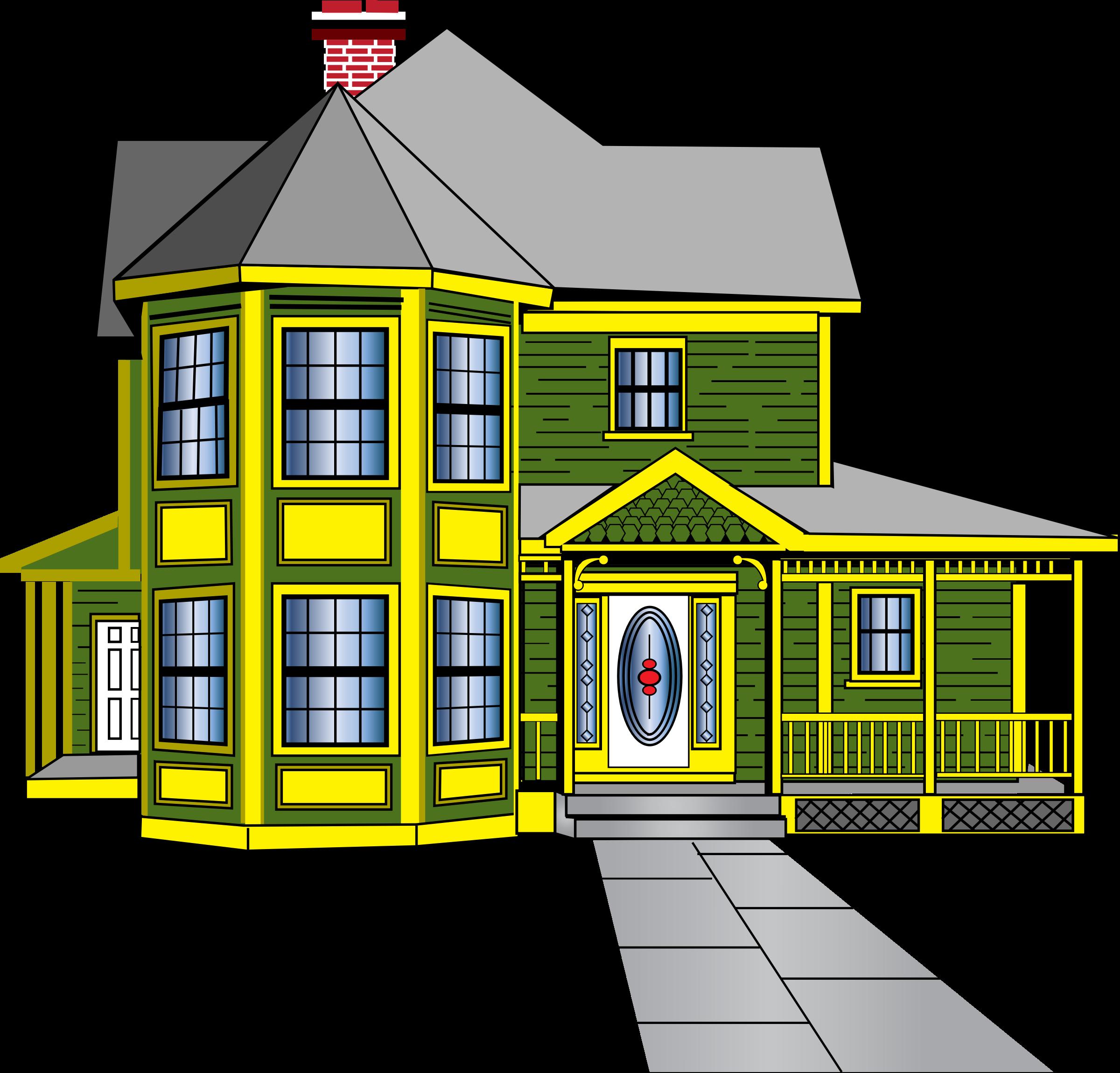 Big House Clip Art Big image (png)