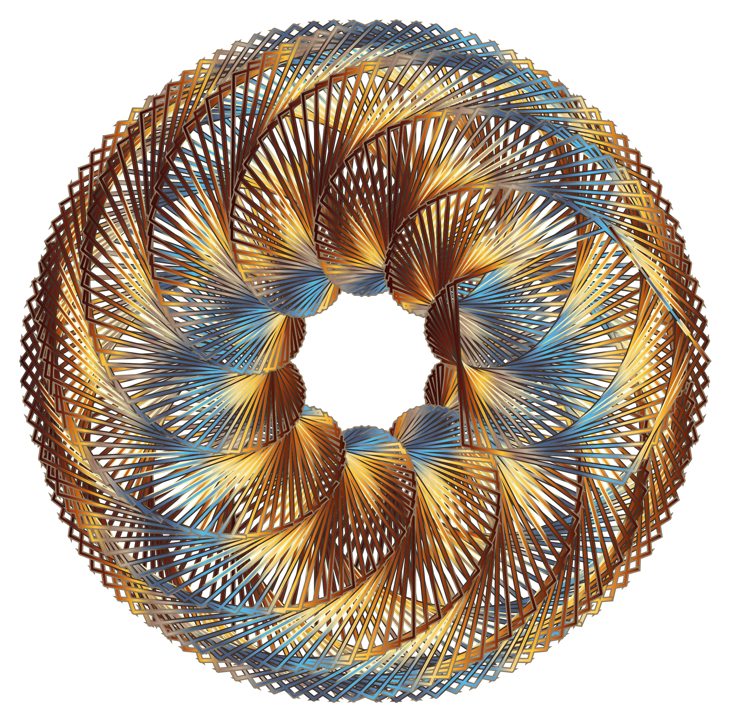Colorful Spirograph by GDJ