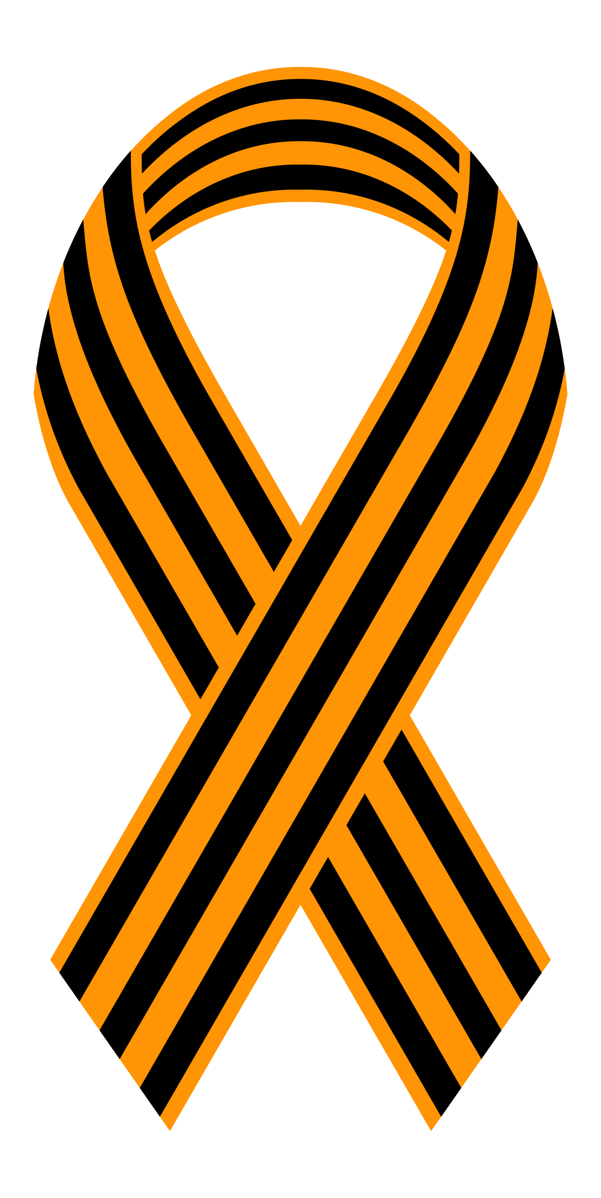 Ribbon of Saint George by worker