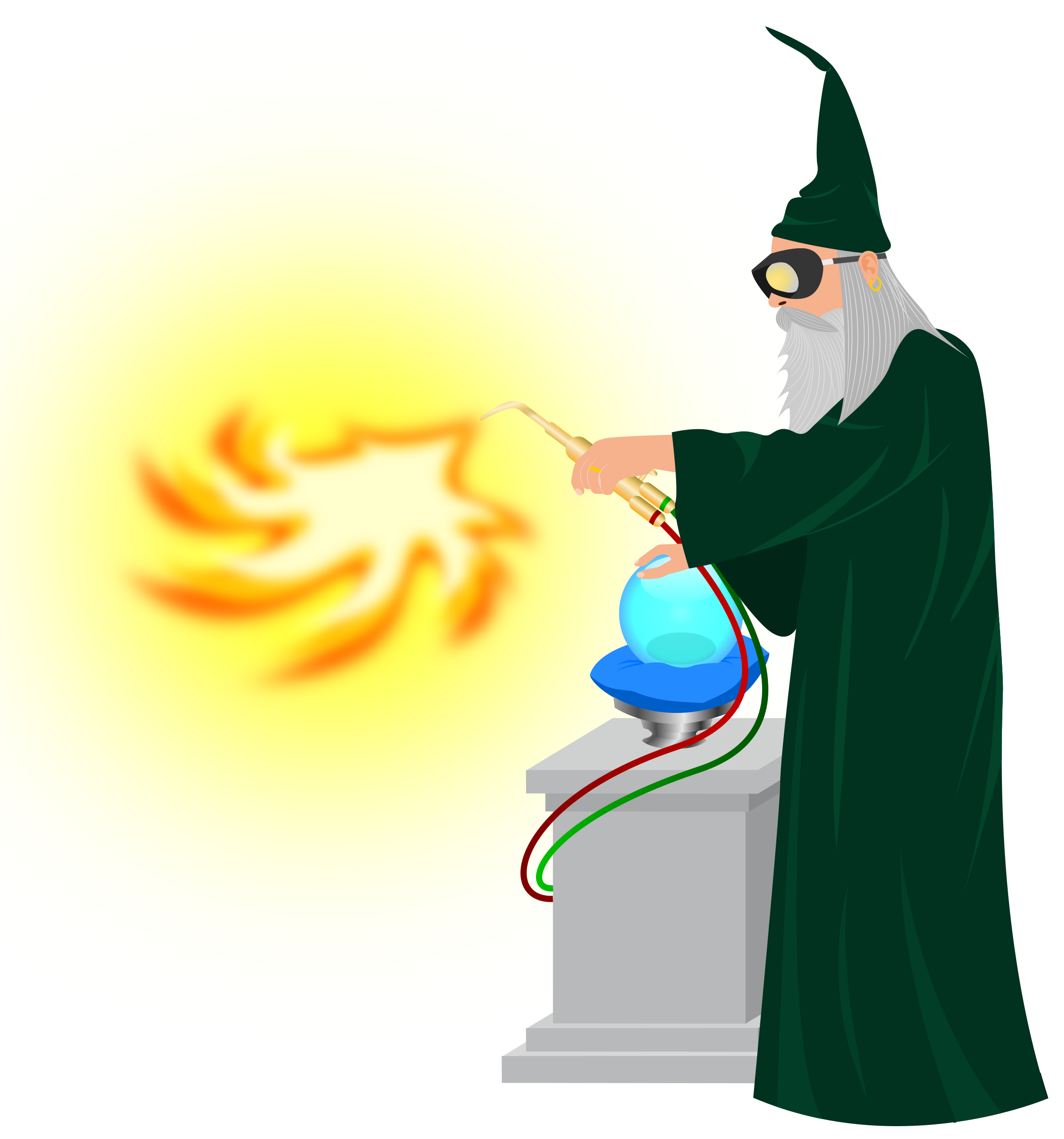 Heat Wizard by Korbac