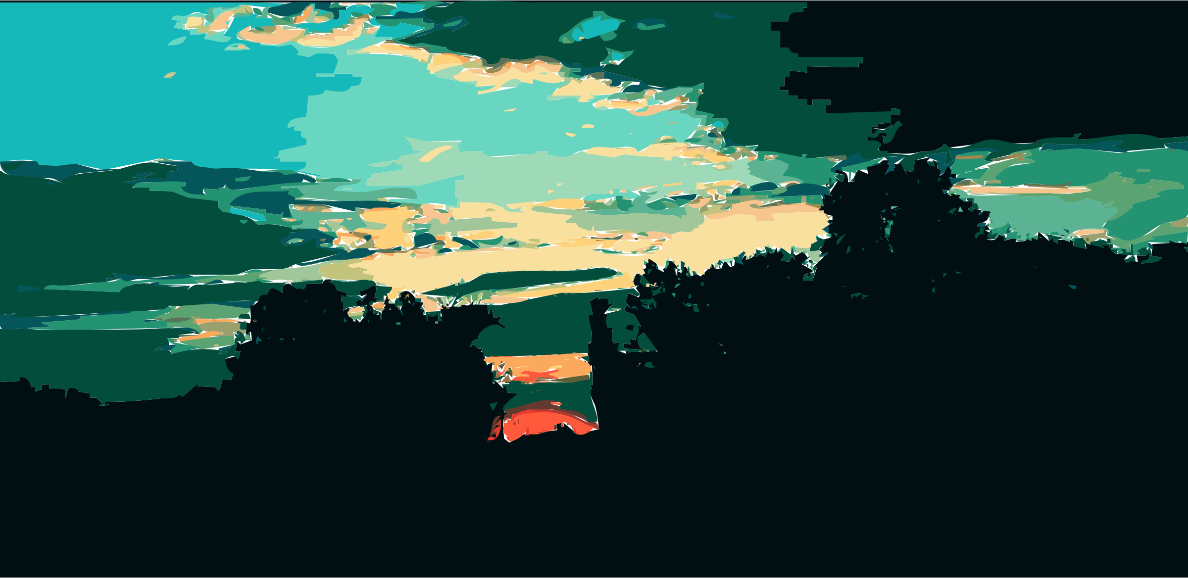 Daily Sketch 16: Sunset by keriann3