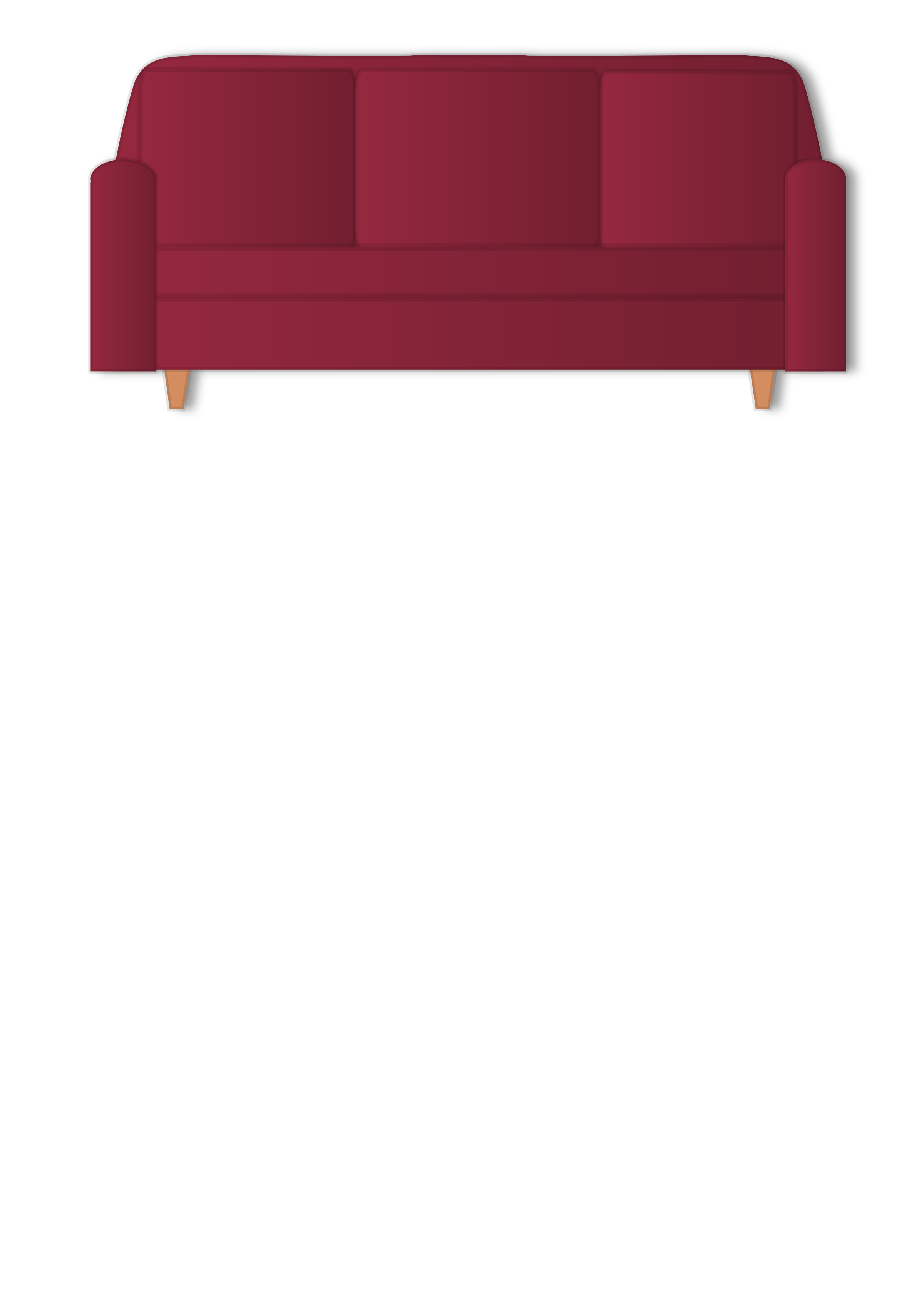 Red Couch by yalnifj