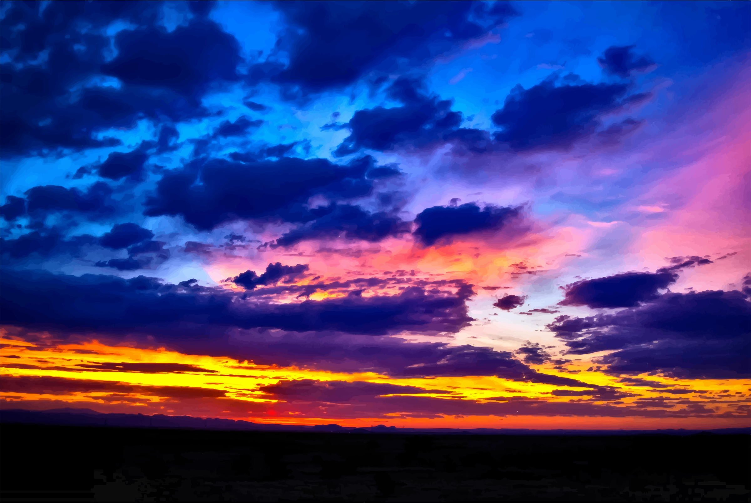 Arizona Sunrise by GDJ