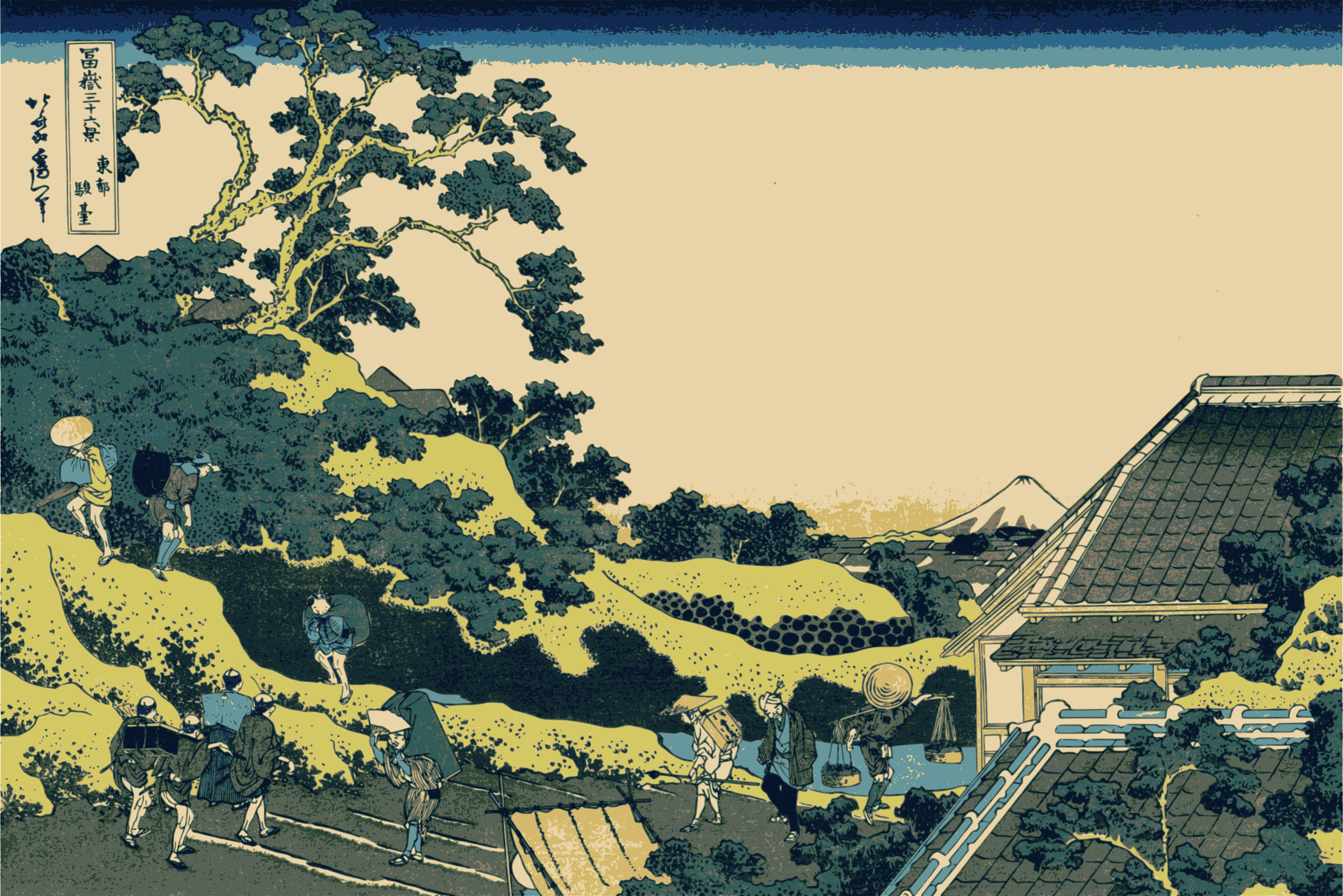 Hokusai-Mount Fuji-36-Views-03 by yamachem2