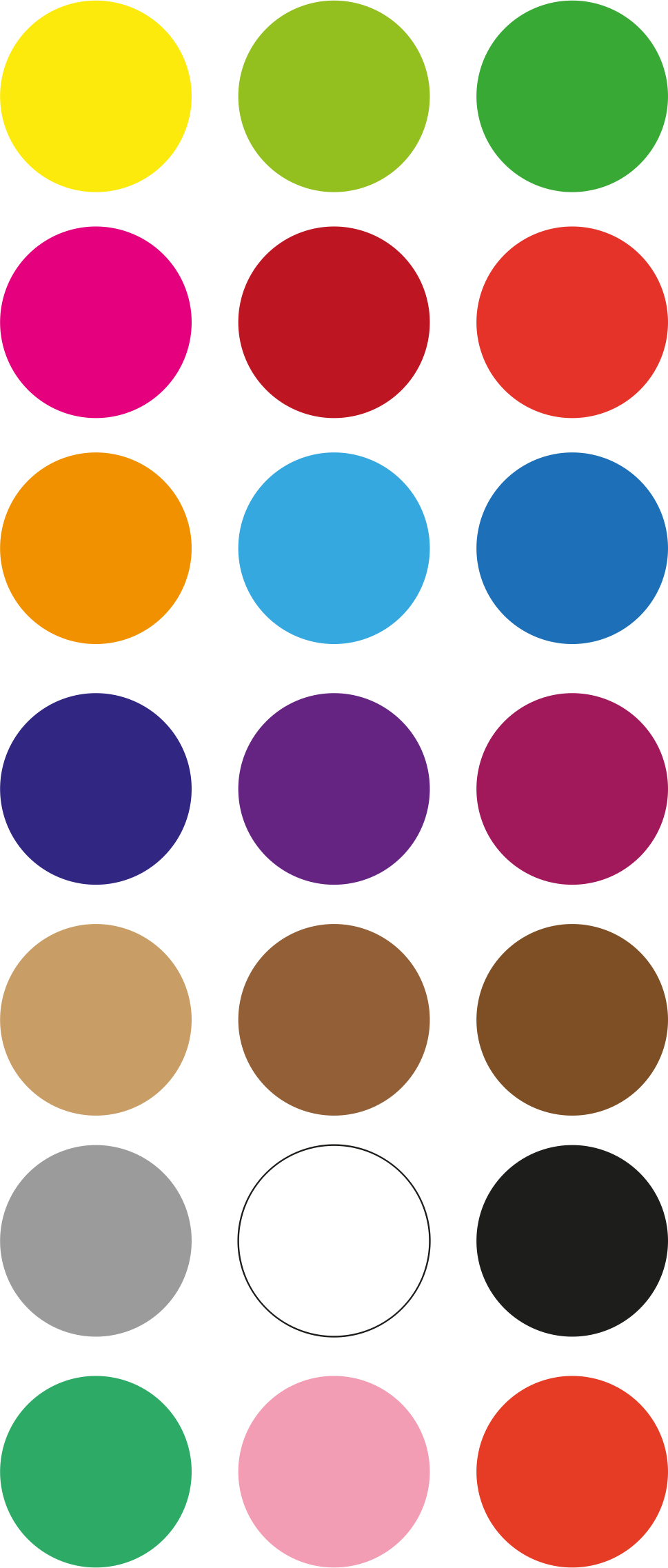 color palette by osfor.org