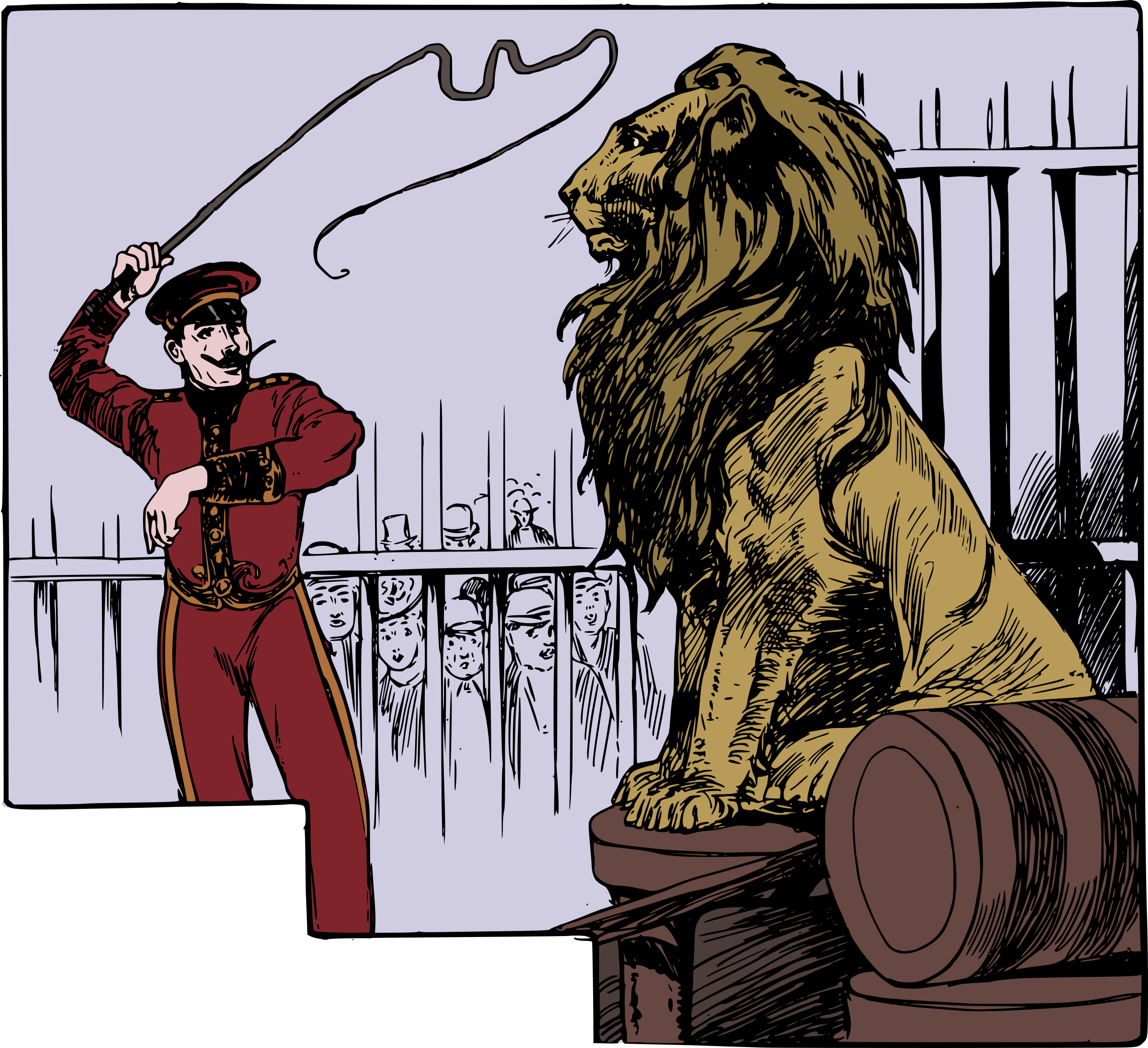 Lion Tamer by j4p4n