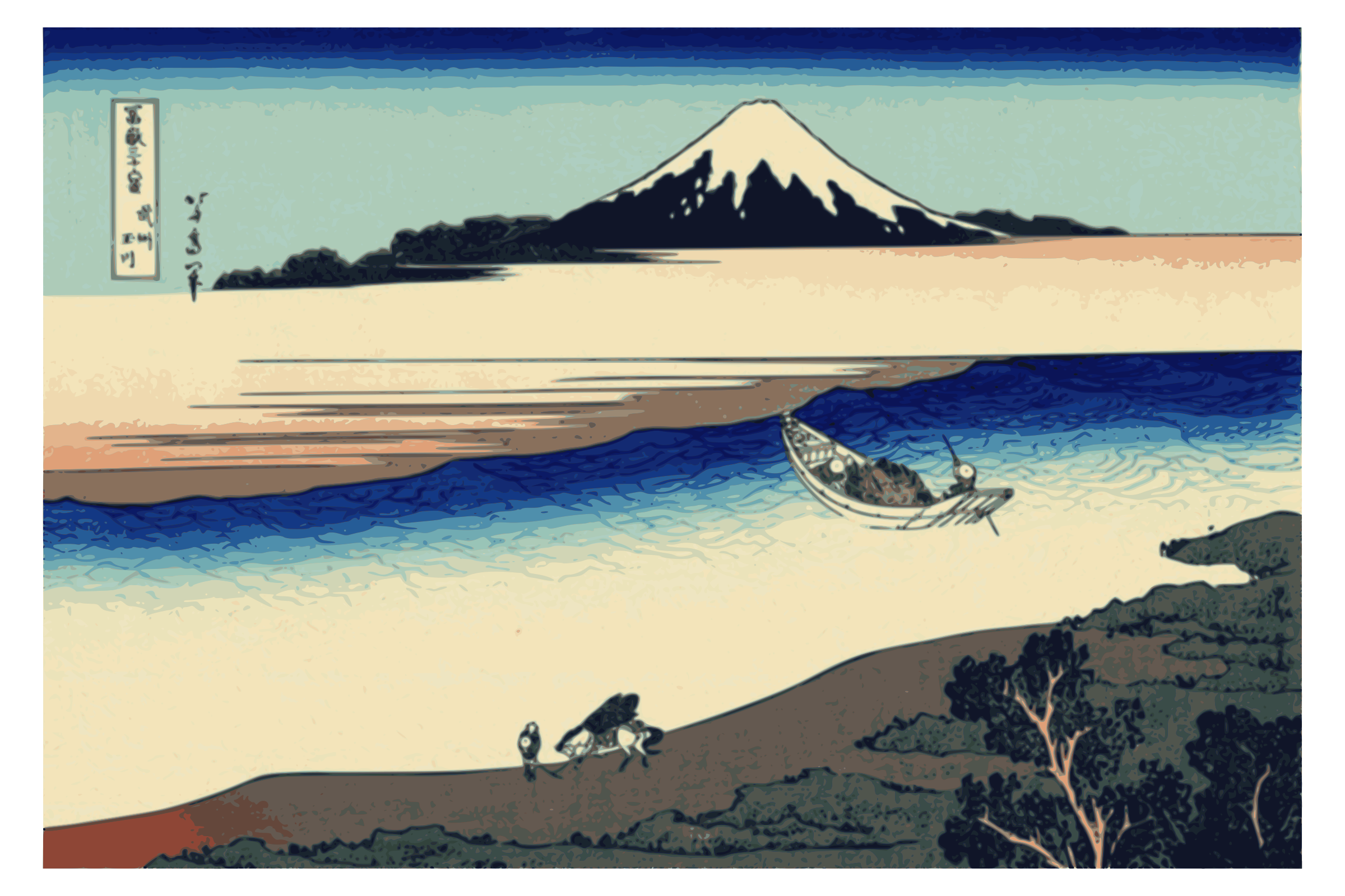 Hokusai-Mount Fuji-36-Views-22 by yamachem2