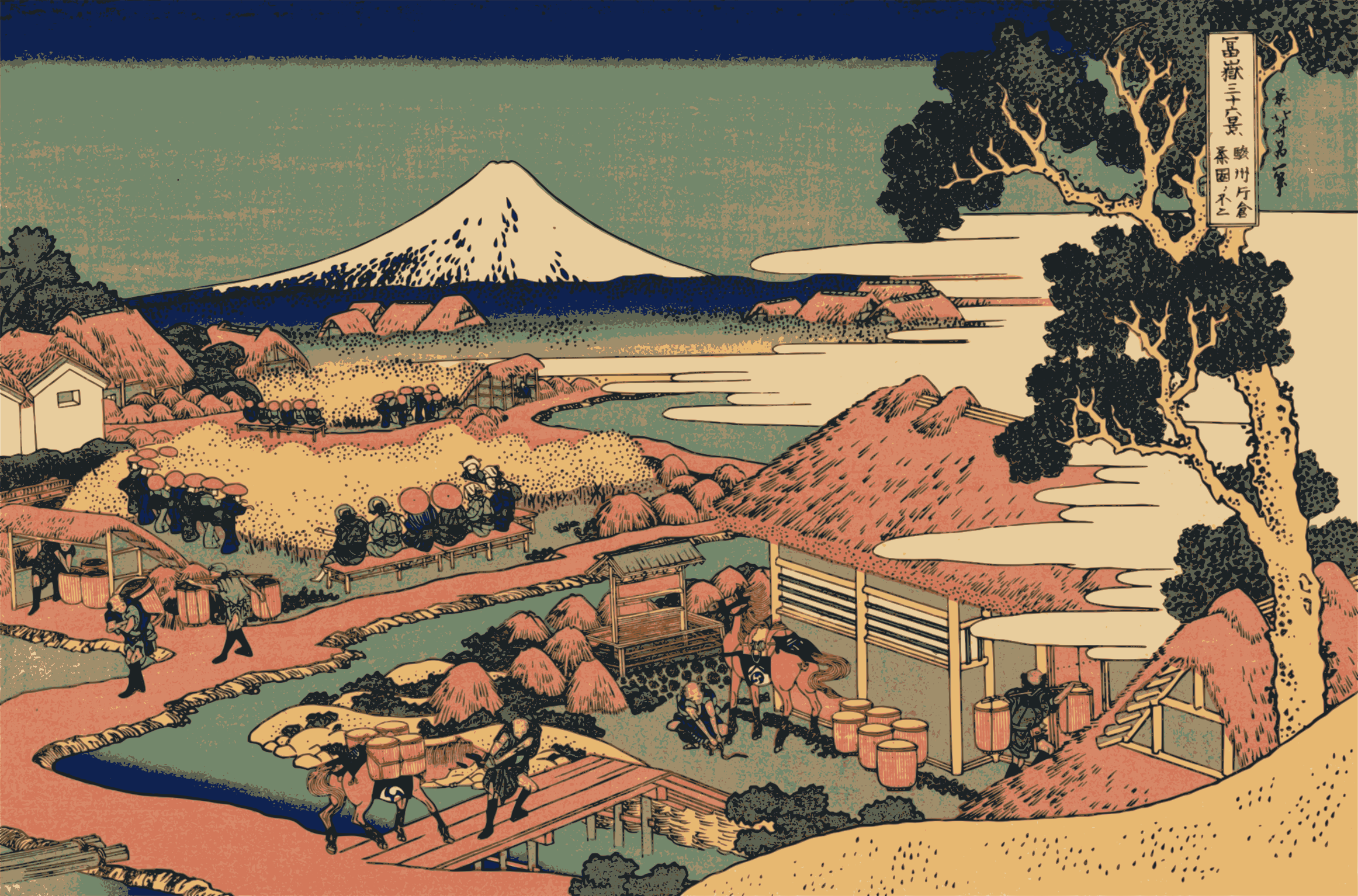Hokusai-Mount Fuji-36-Views-30 by yamachem2