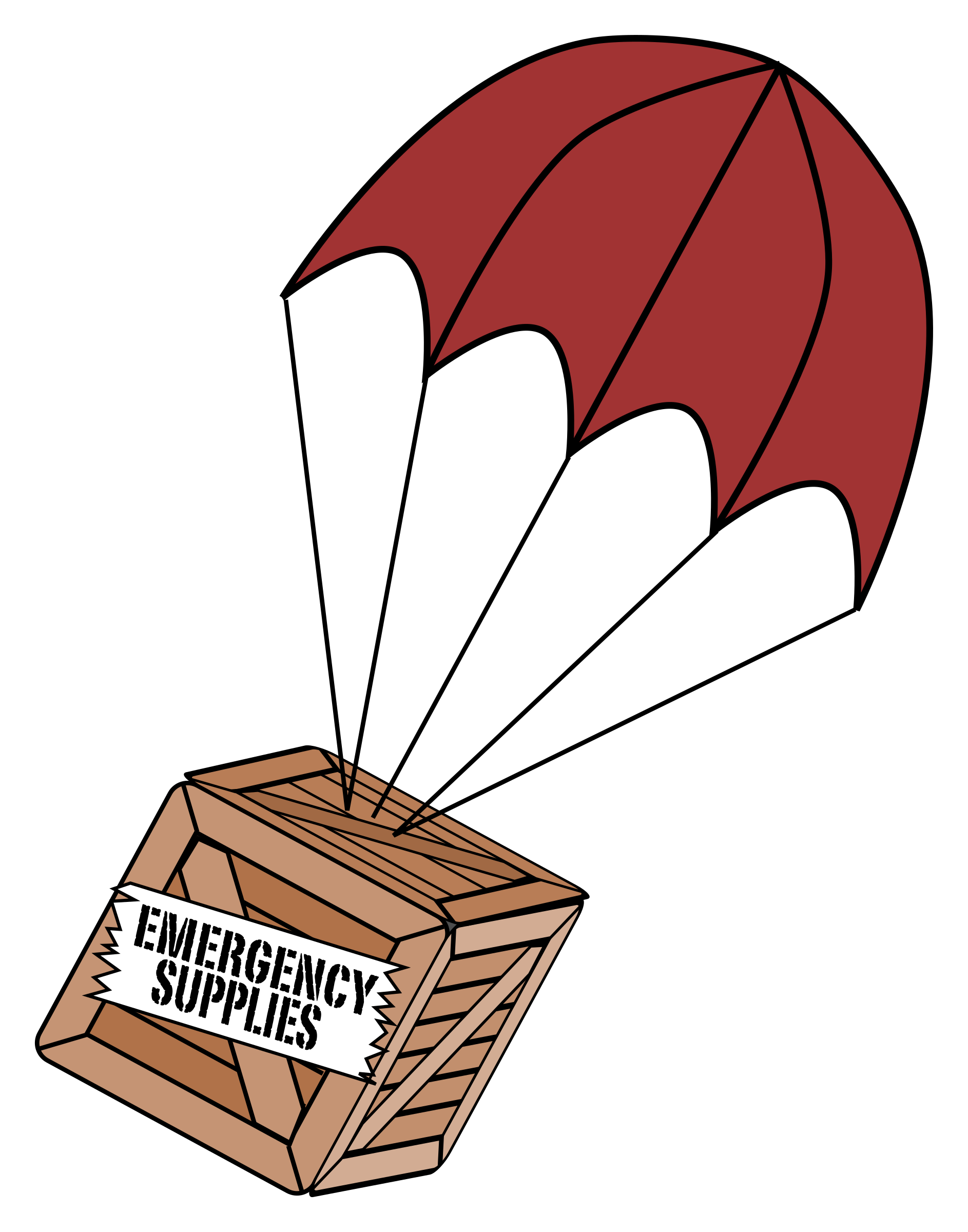 Emergency Supplies Boxchute by j4p4n